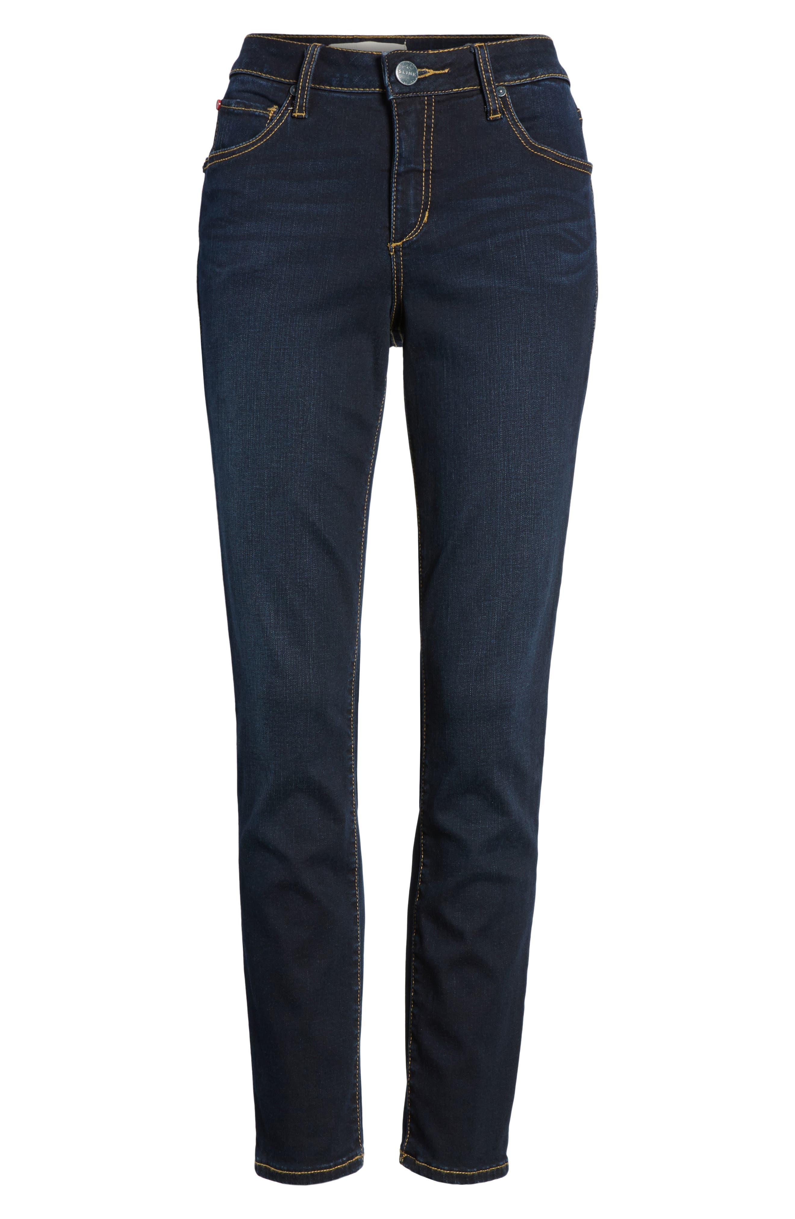 Ankle Skinny Jeans,                             Alternate thumbnail 6, color,                             SUMMER