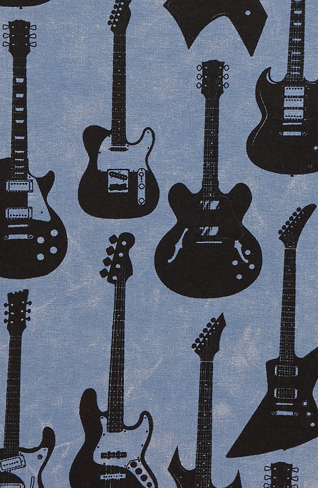 Guitar Hero Sweatshirt,                             Alternate thumbnail 2, color,                             DARK BLUE