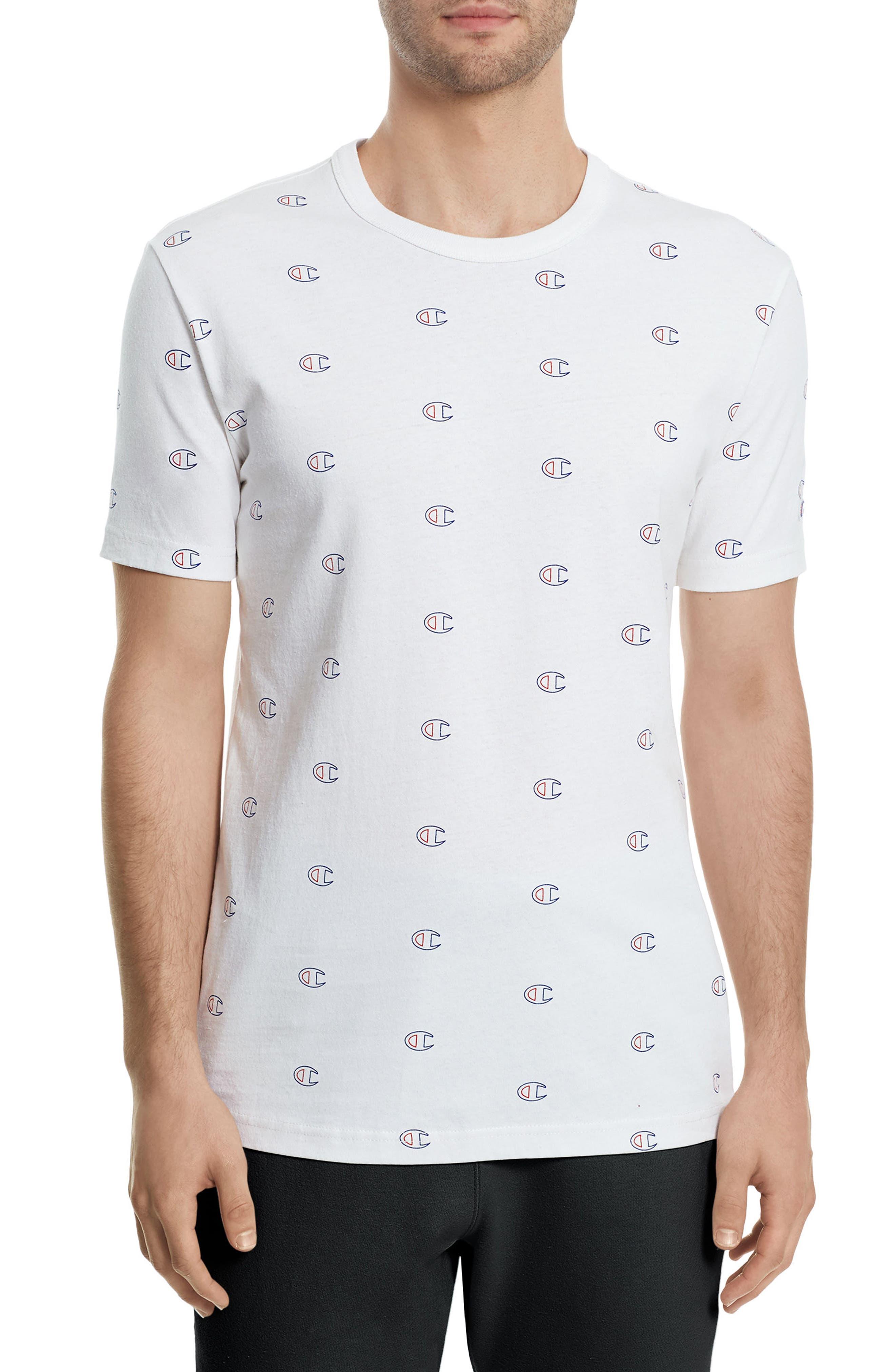 Allover Logo T-Shirt,                         Main,                         color, 100