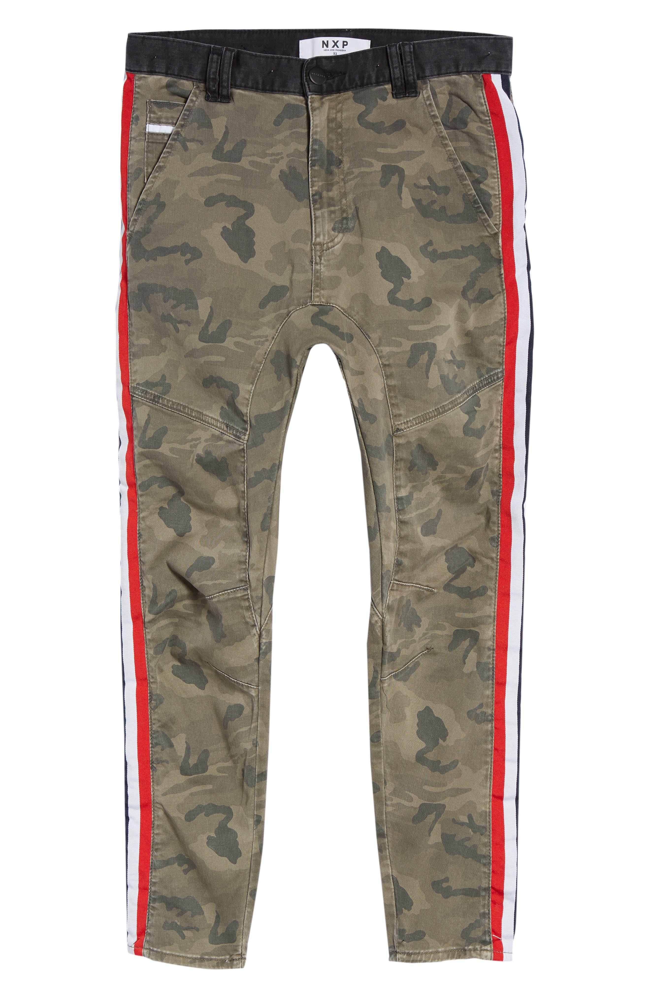 Sergeant Slim Fit Pants,                             Alternate thumbnail 6, color,                             AIRWOLF CAMO