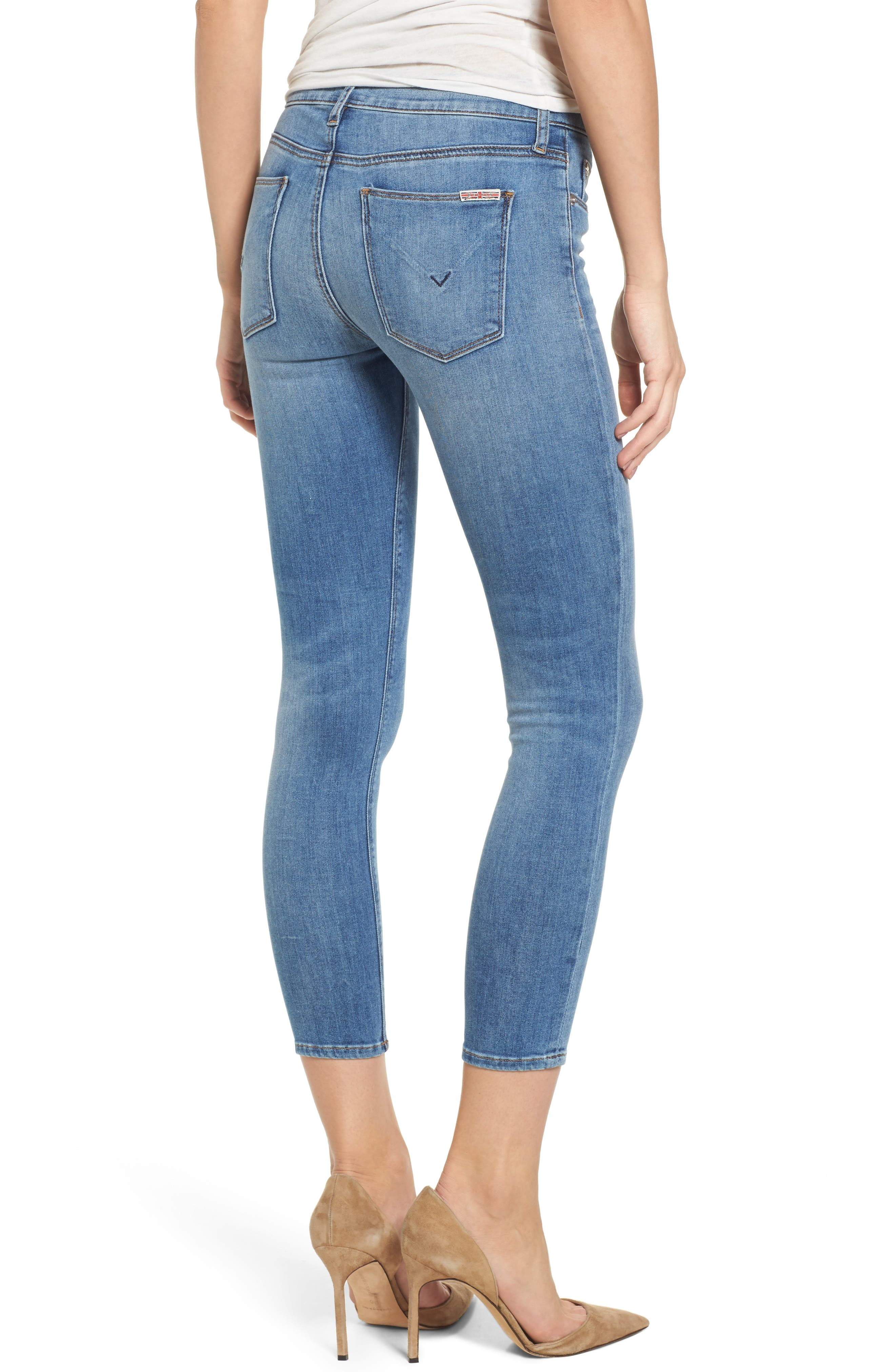 Tally Crop Skinny Jeans,                             Alternate thumbnail 2, color,                             450