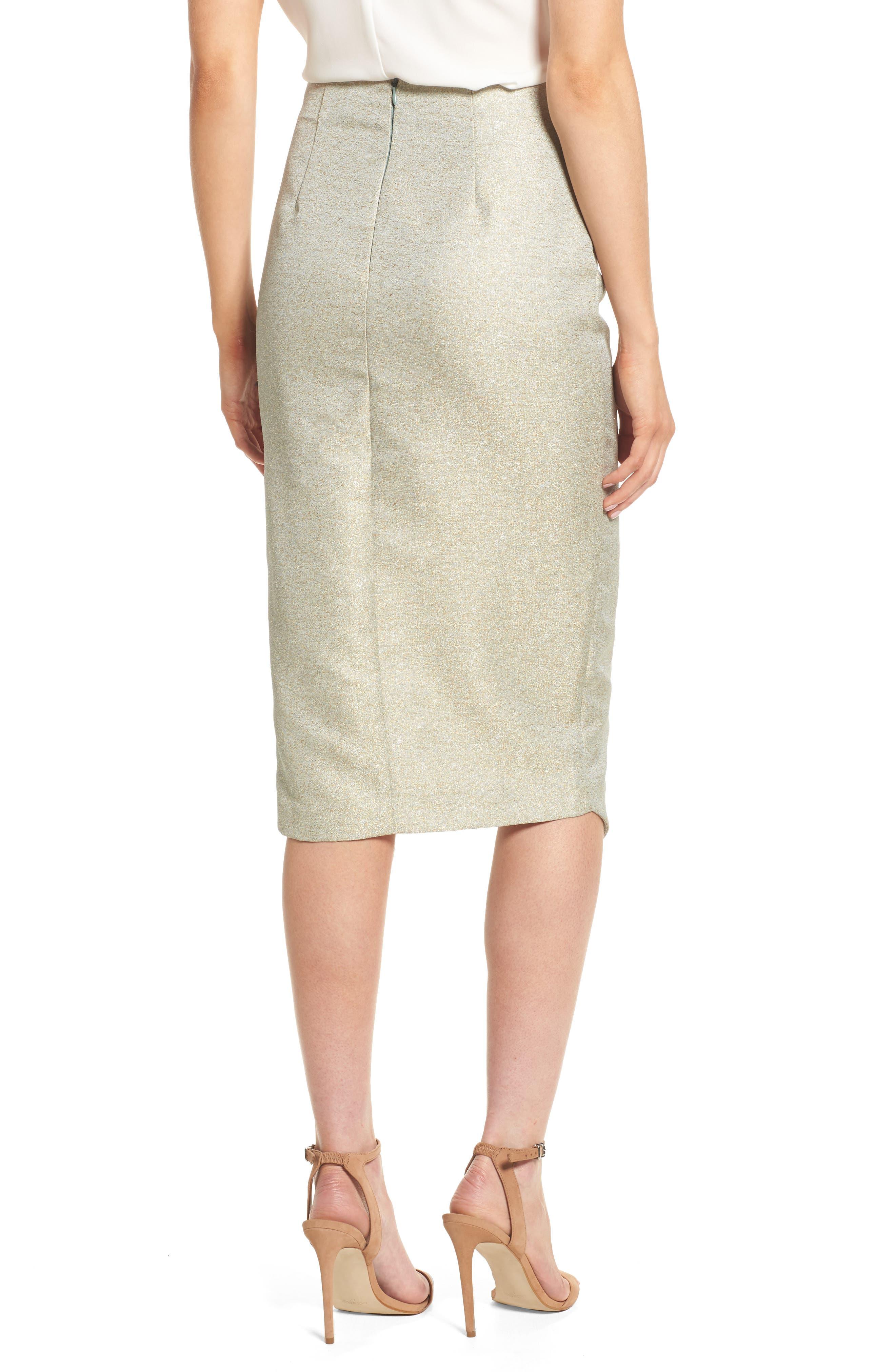 Valencia Midi Skirt,                             Alternate thumbnail 2, color,                             376