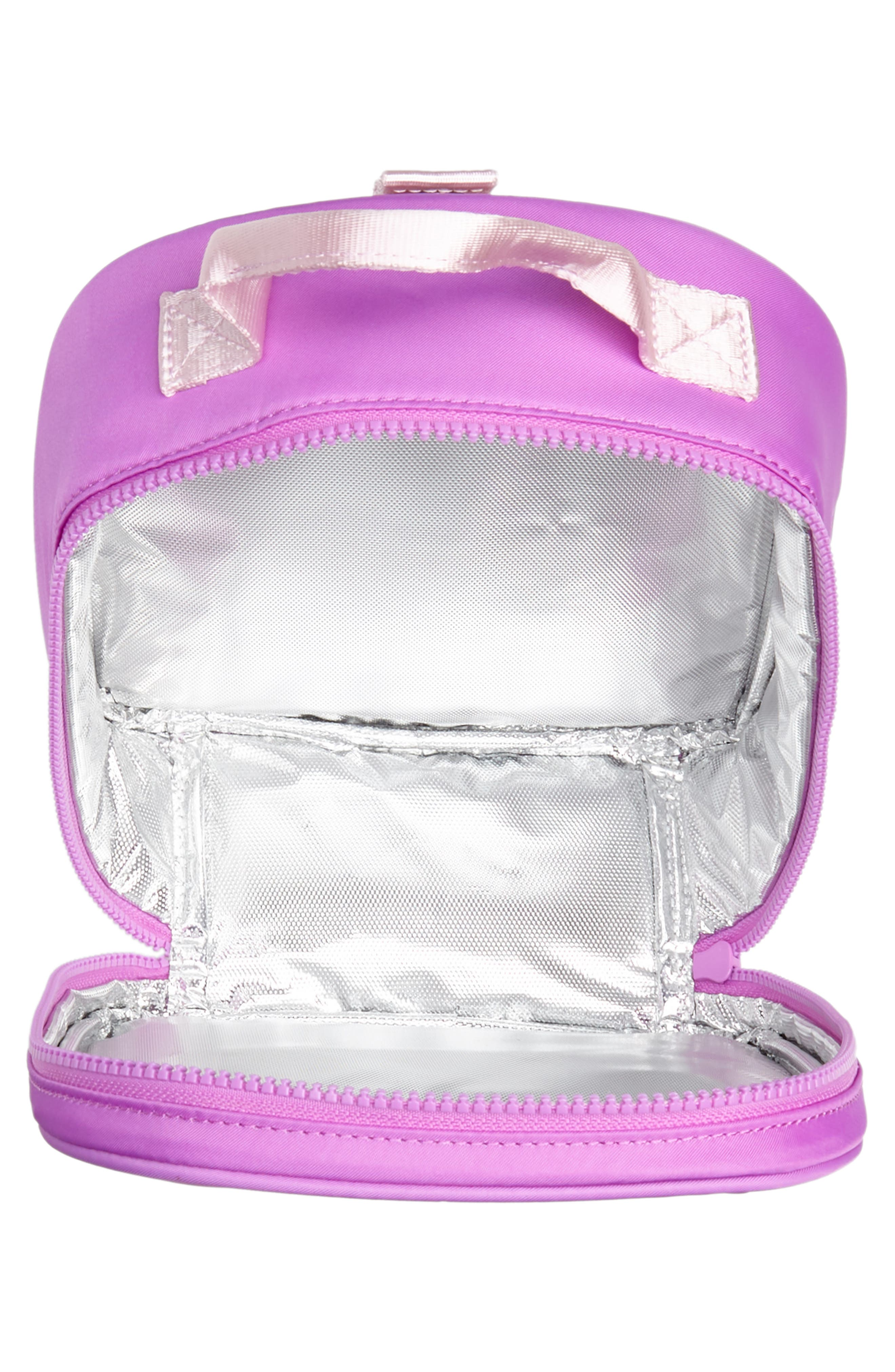 Lunchbox with Reversible Sequin Heart,                             Alternate thumbnail 3, color,                             950