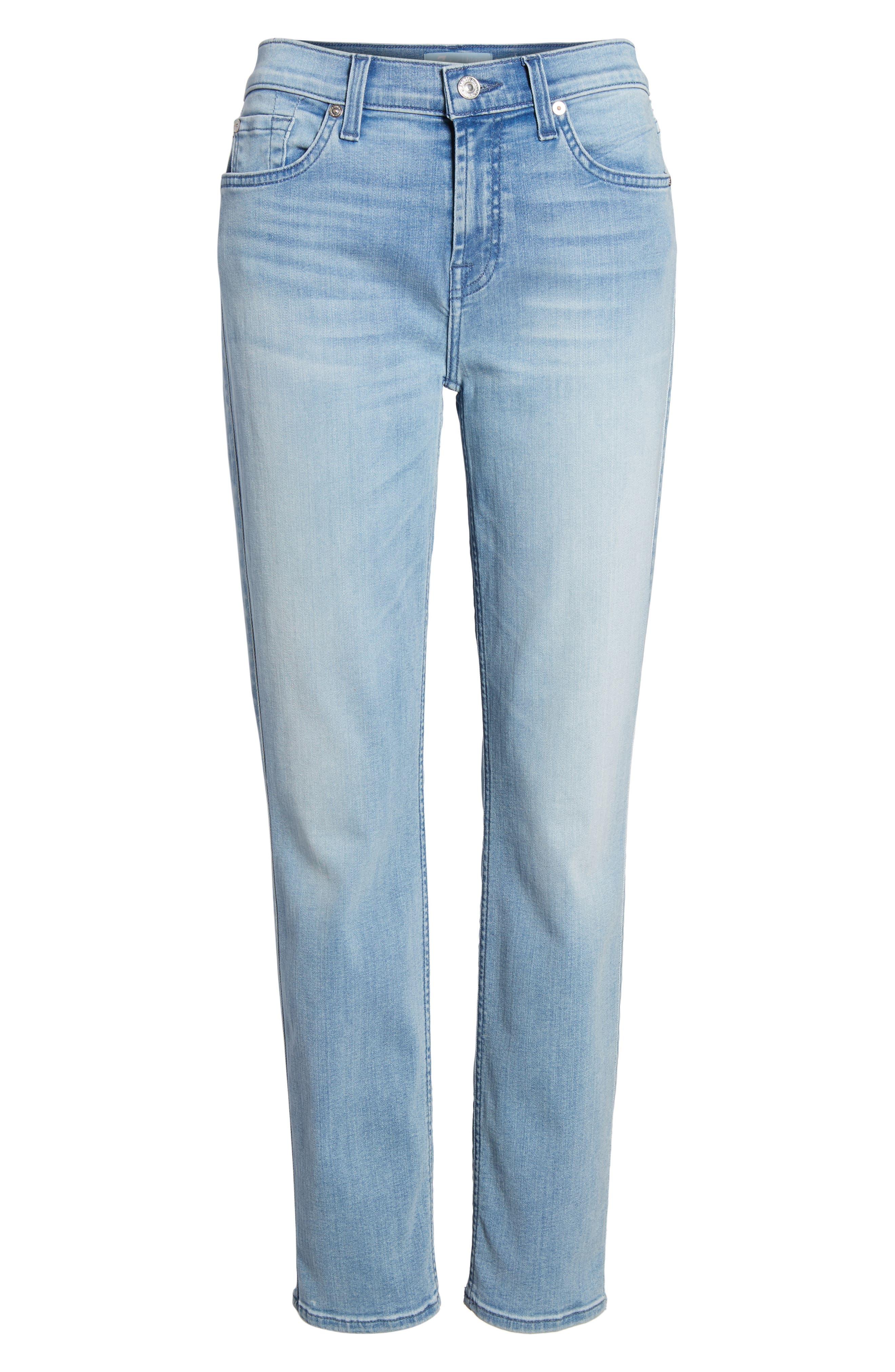 b(air) Roxanne Ankle Skinny Jeans,                             Alternate thumbnail 7, color,                             401