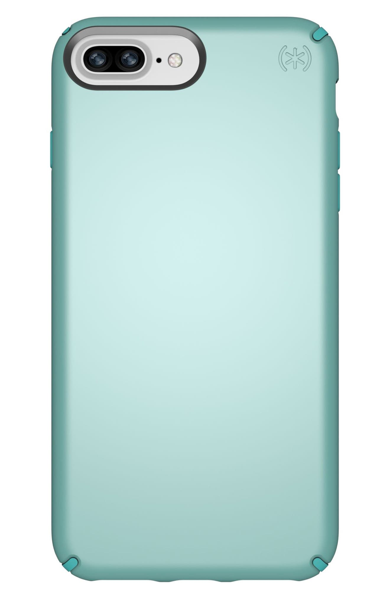 iPhone 6/6s/7/8 Plus Case,                             Main thumbnail 1, color,                             PEPPERMINT GREEN/ TEAL