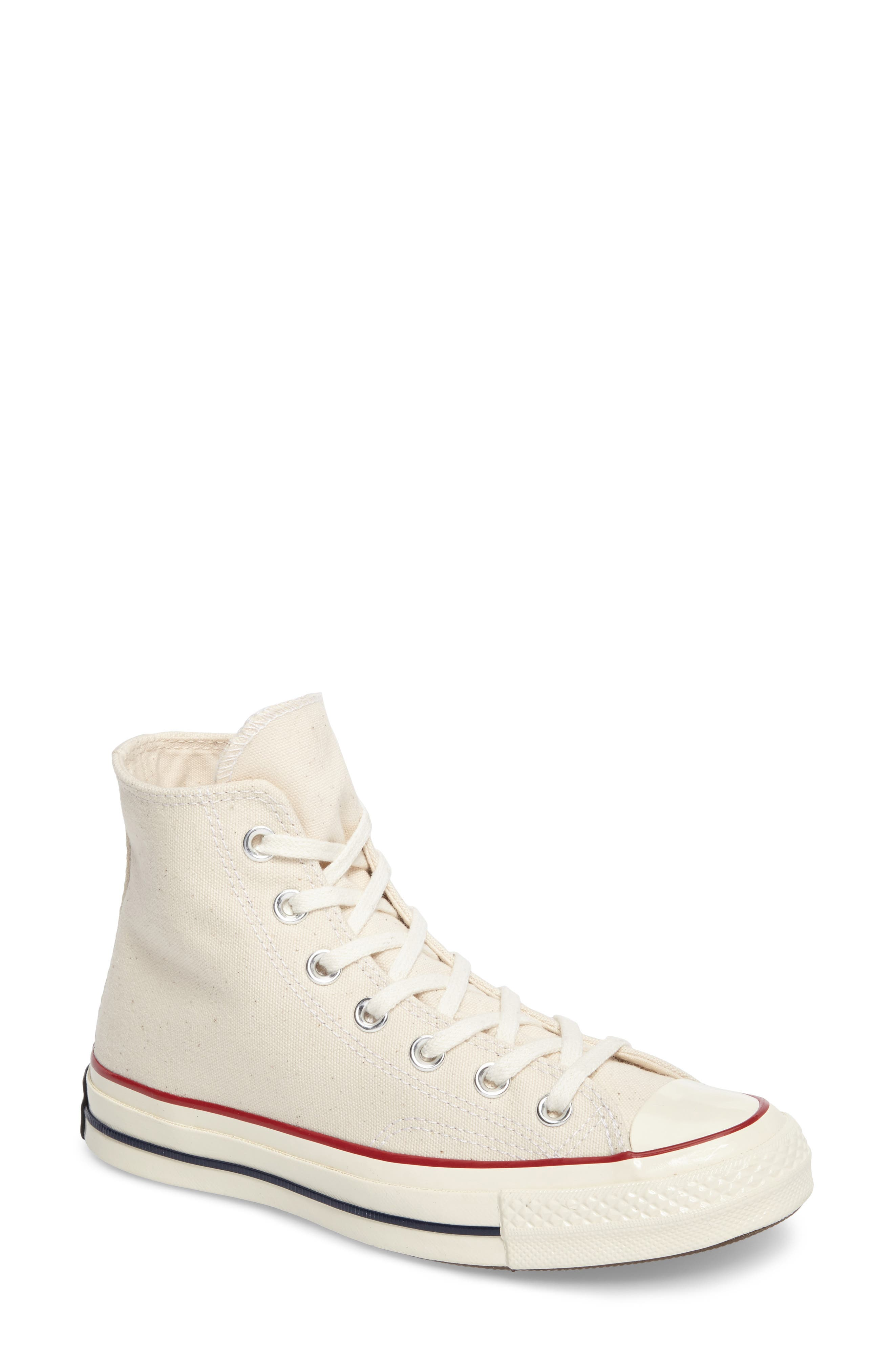 Chuck Taylor<sup>®</sup> All Star<sup>®</sup> '70 High Top Sneaker,                             Main thumbnail 1, color,                             PARCHMENT