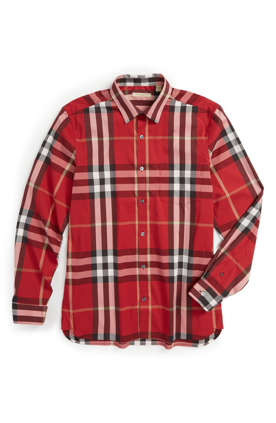 Nelson Check Sport Shirt,                             Alternate thumbnail 131, color,