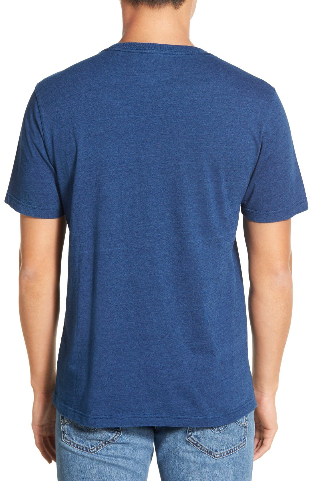 Pocket Crewneck T-Shirt,                             Alternate thumbnail 2, color,                             489