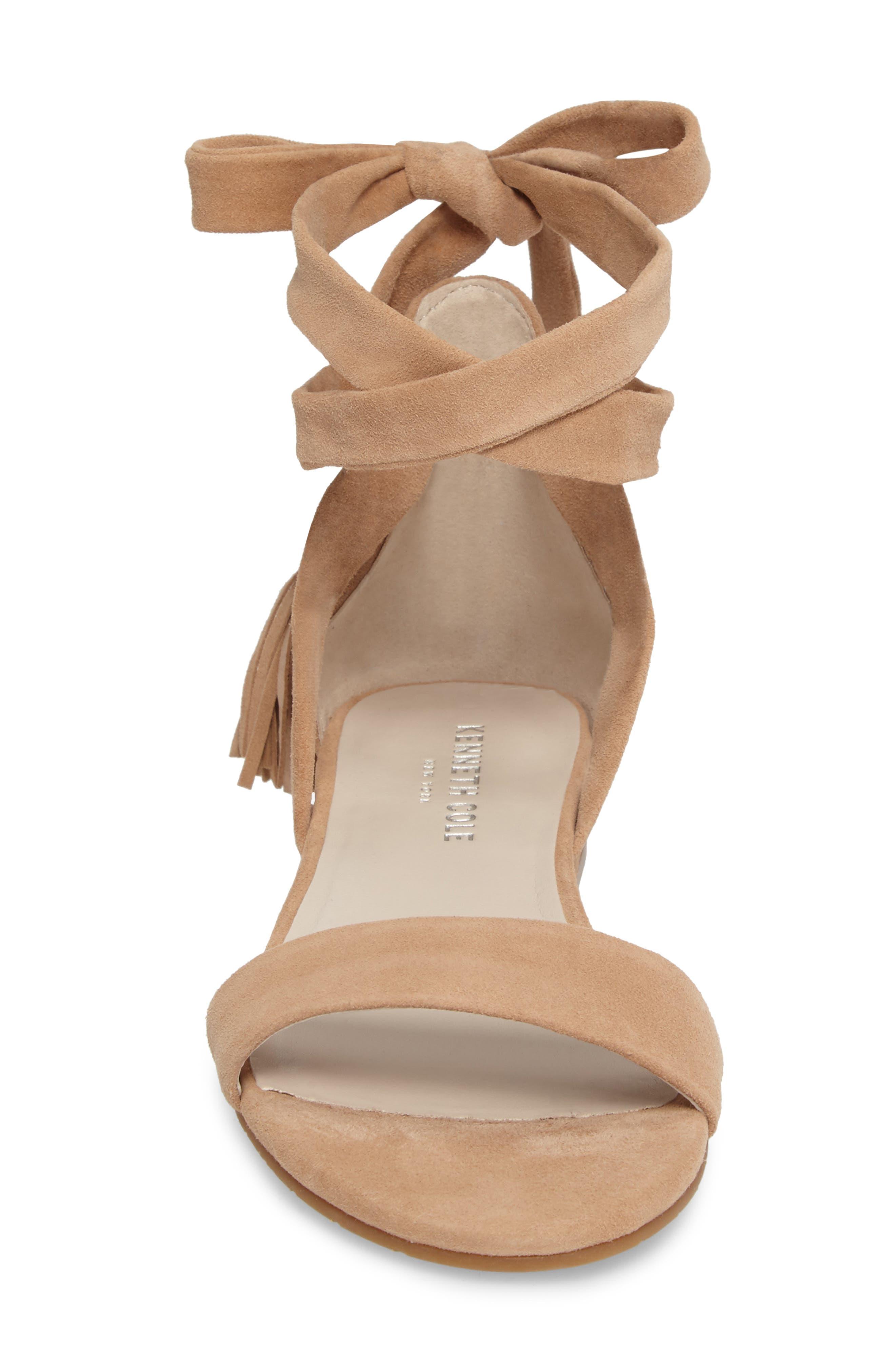 Valen Tassel Lace-Up Sandal,                             Alternate thumbnail 48, color,