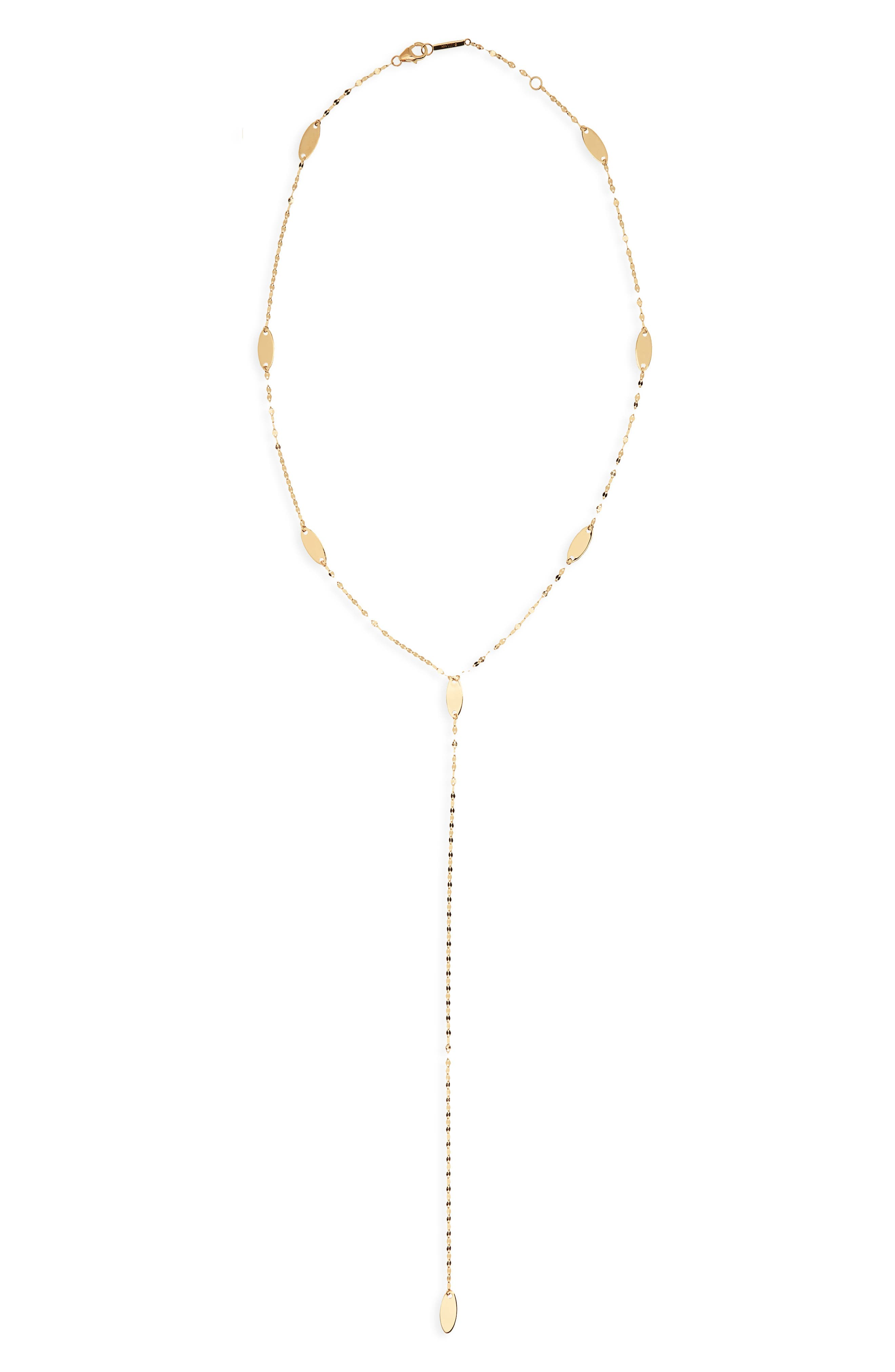Bond Long Ombré Marquis Lariat Necklace,                         Main,                         color, 710