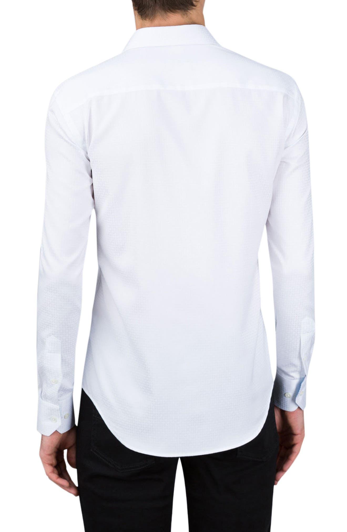 Classic Fit Sport Shirt,                             Alternate thumbnail 2, color,                             100