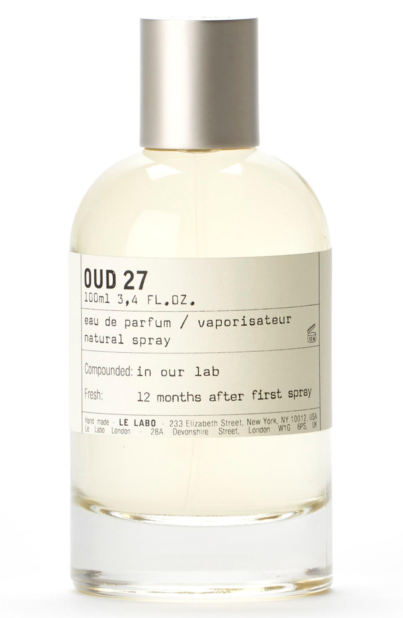 'Oud 27' Eau de Parfum,                             Main thumbnail 1, color,                             000