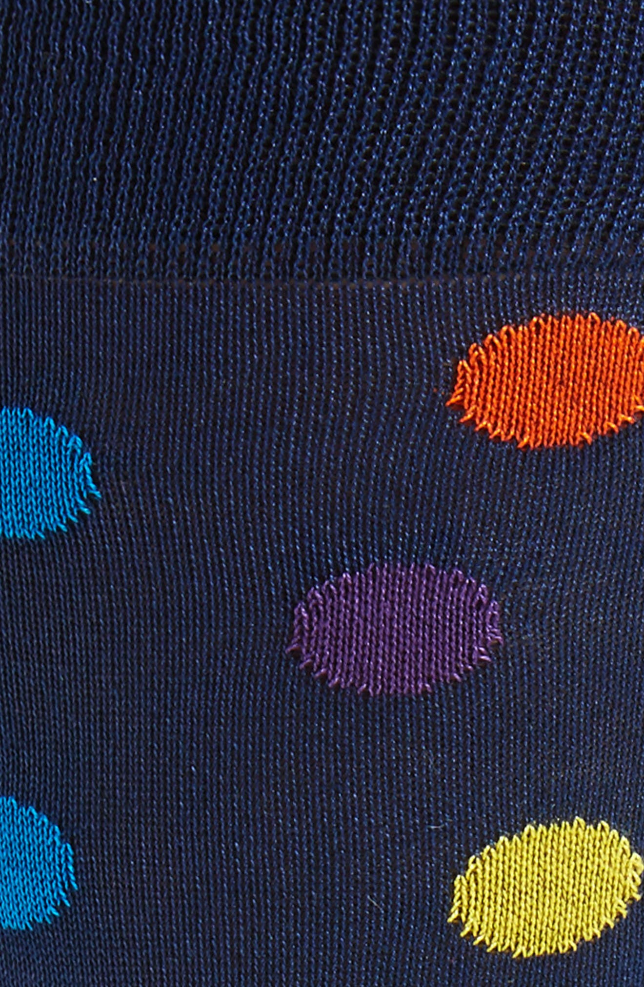 Large Polka Dot Socks,                             Alternate thumbnail 4, color,