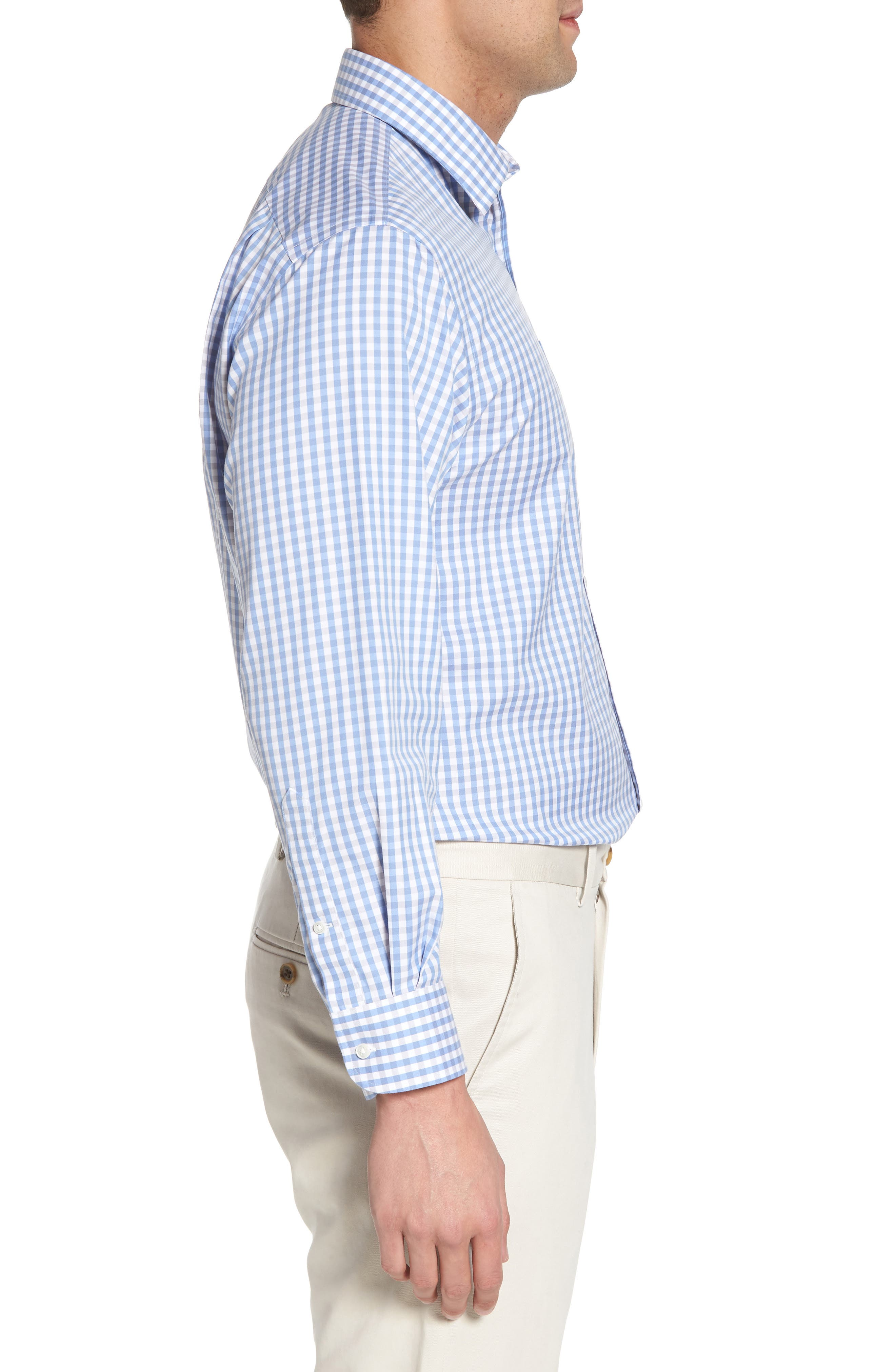 Smartcare<sup>™</sup> Traditional Fit Check Dress Shirt,                             Alternate thumbnail 4, color,                             050