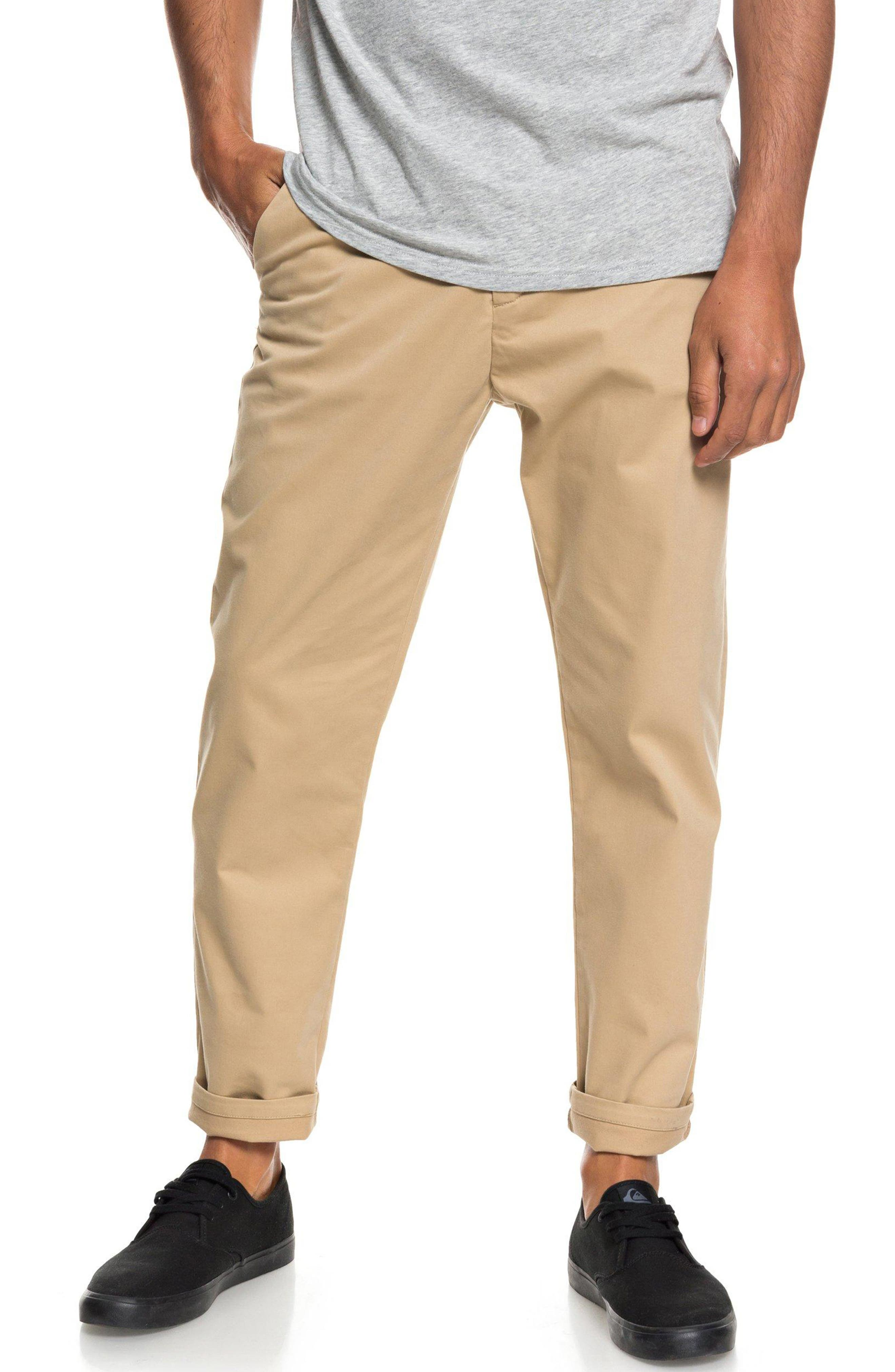 Slim Fit Chinos,                         Main,                         color, PLAGE