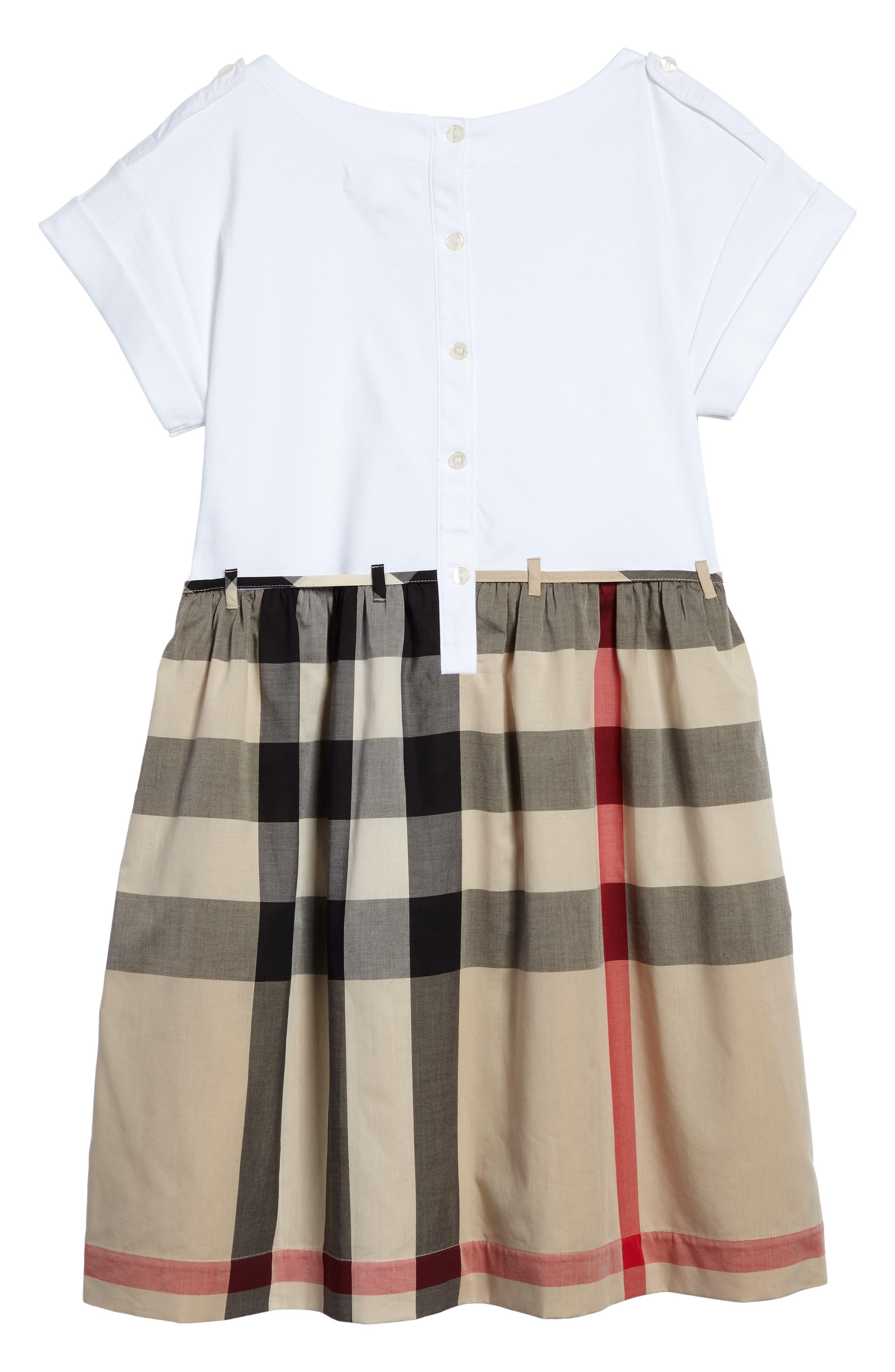 Rhonda Check Dress,                             Alternate thumbnail 2, color,