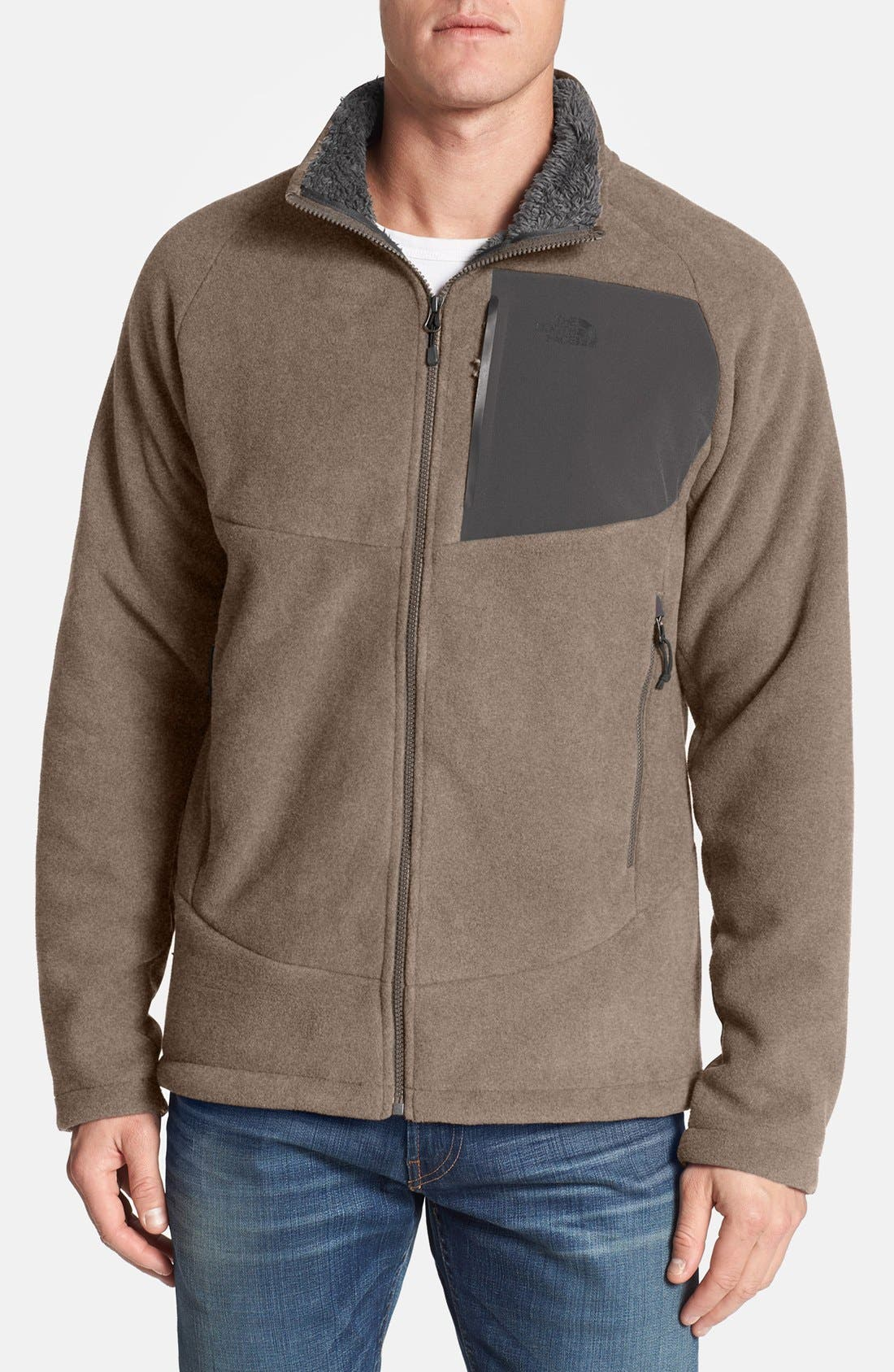 'Chimborazo' Zip Front Fleece Jacket,                             Main thumbnail 11, color,