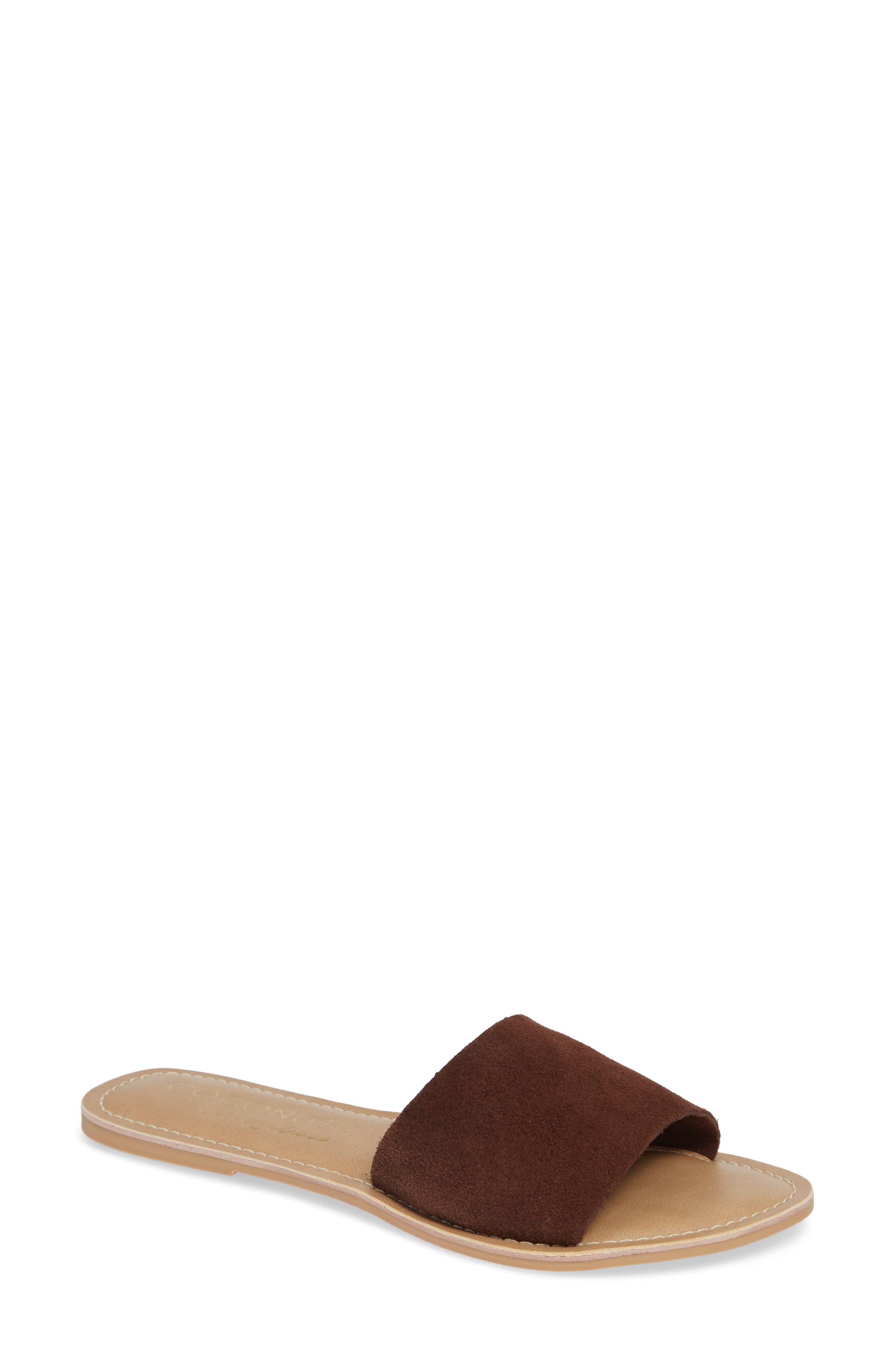 3456ea91afd Coconuts By Matisse Cabana Slide Sandal