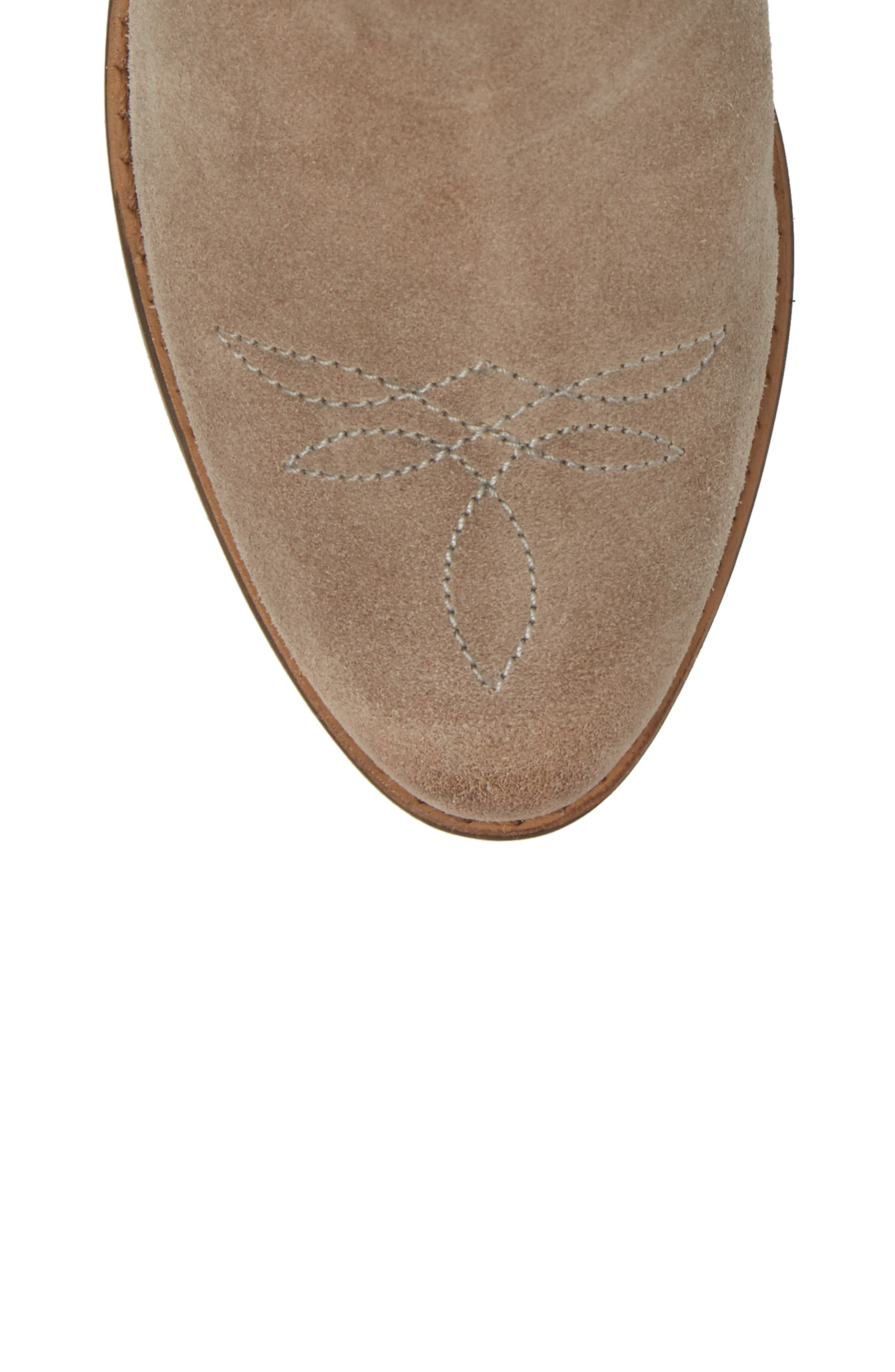 Zoey Perforated Bootie,                             Alternate thumbnail 19, color,