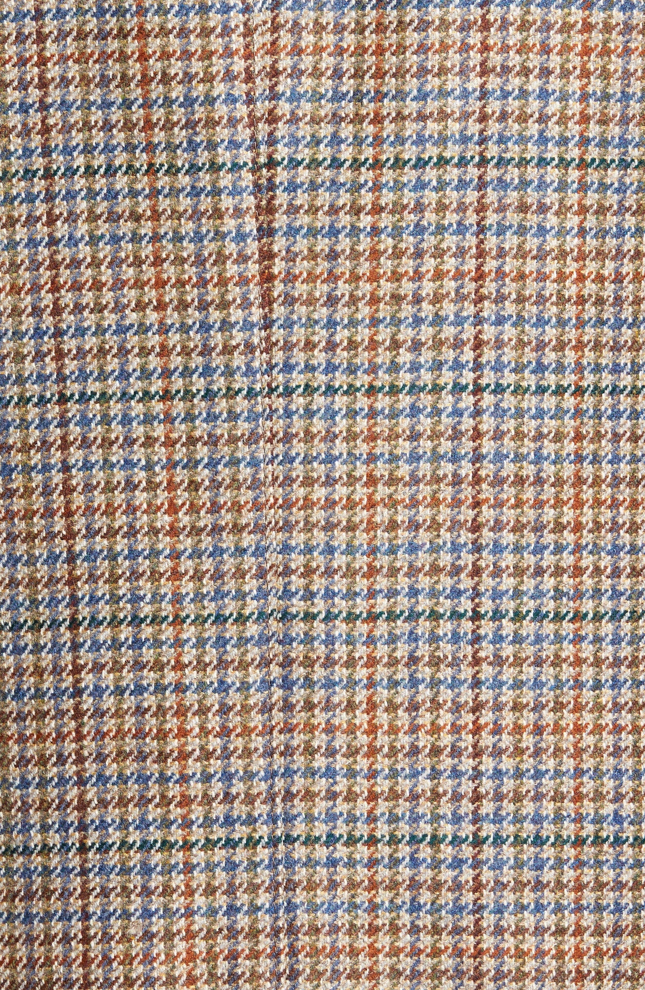 Houndstooth Wool Blend Sport Coat,                             Alternate thumbnail 6, color,                             250