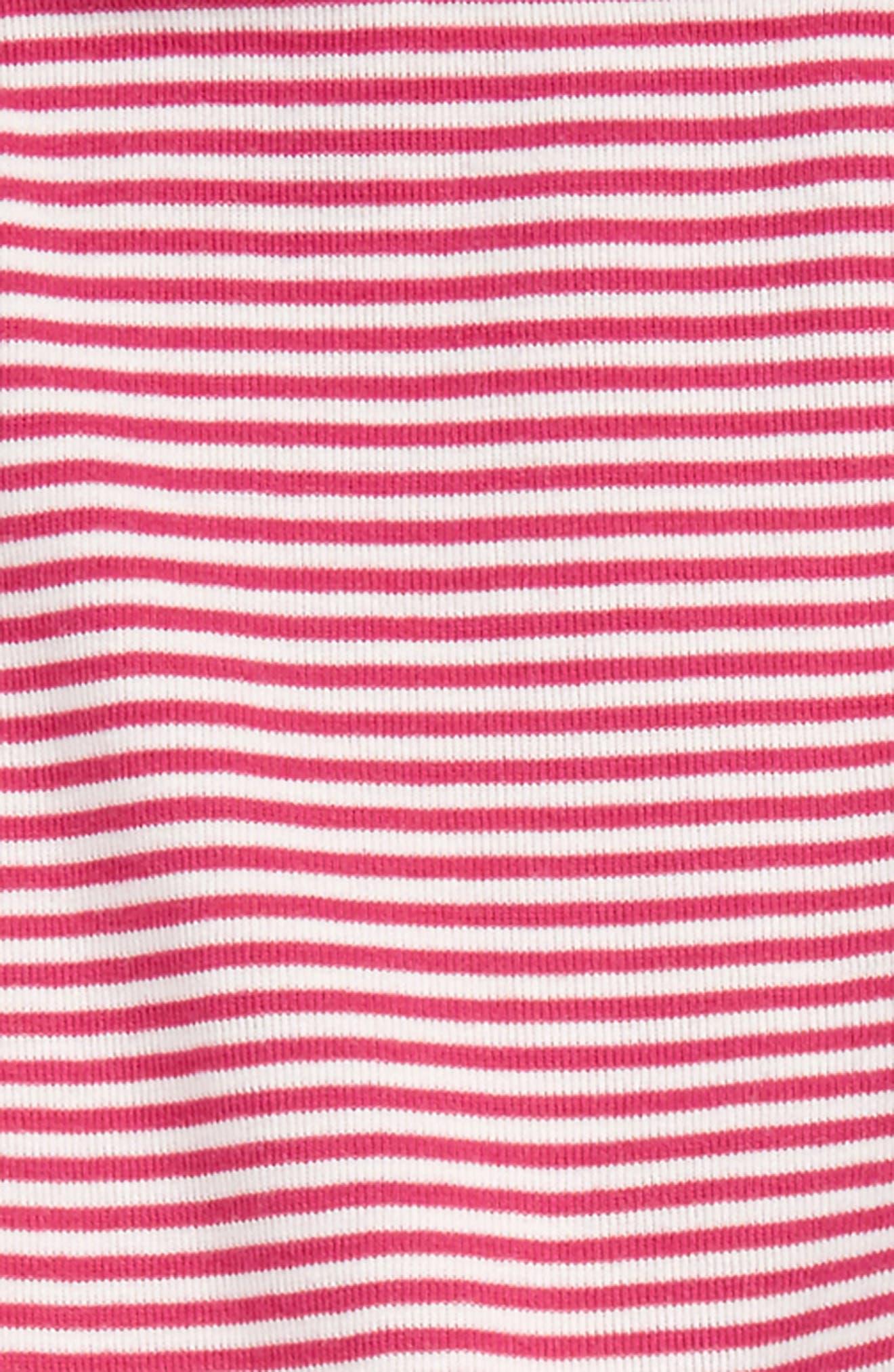Stripe Cotton Leggings,                             Alternate thumbnail 7, color,