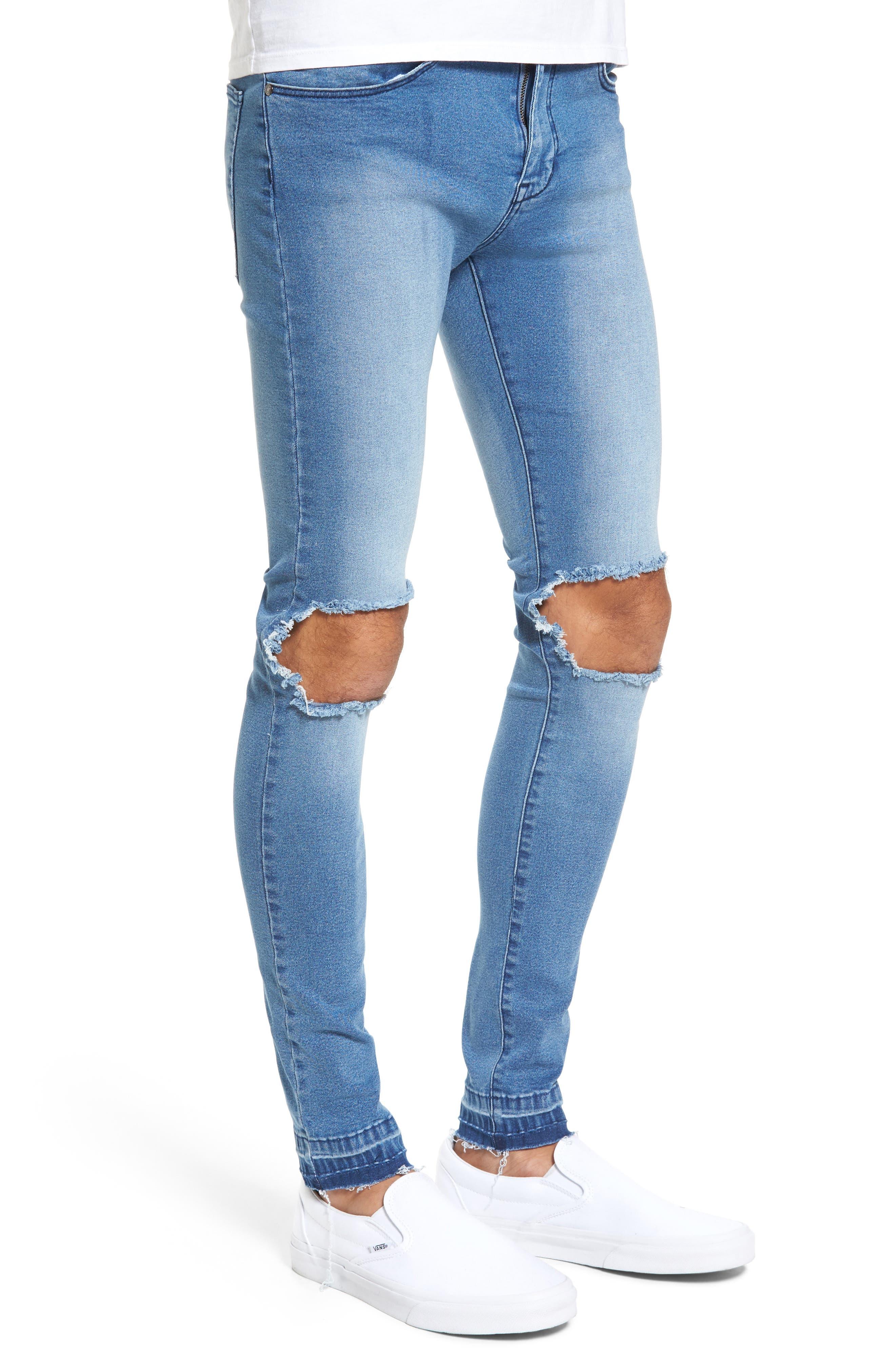 Leroy Slim Fit Jeans,                             Alternate thumbnail 3, color,                             400