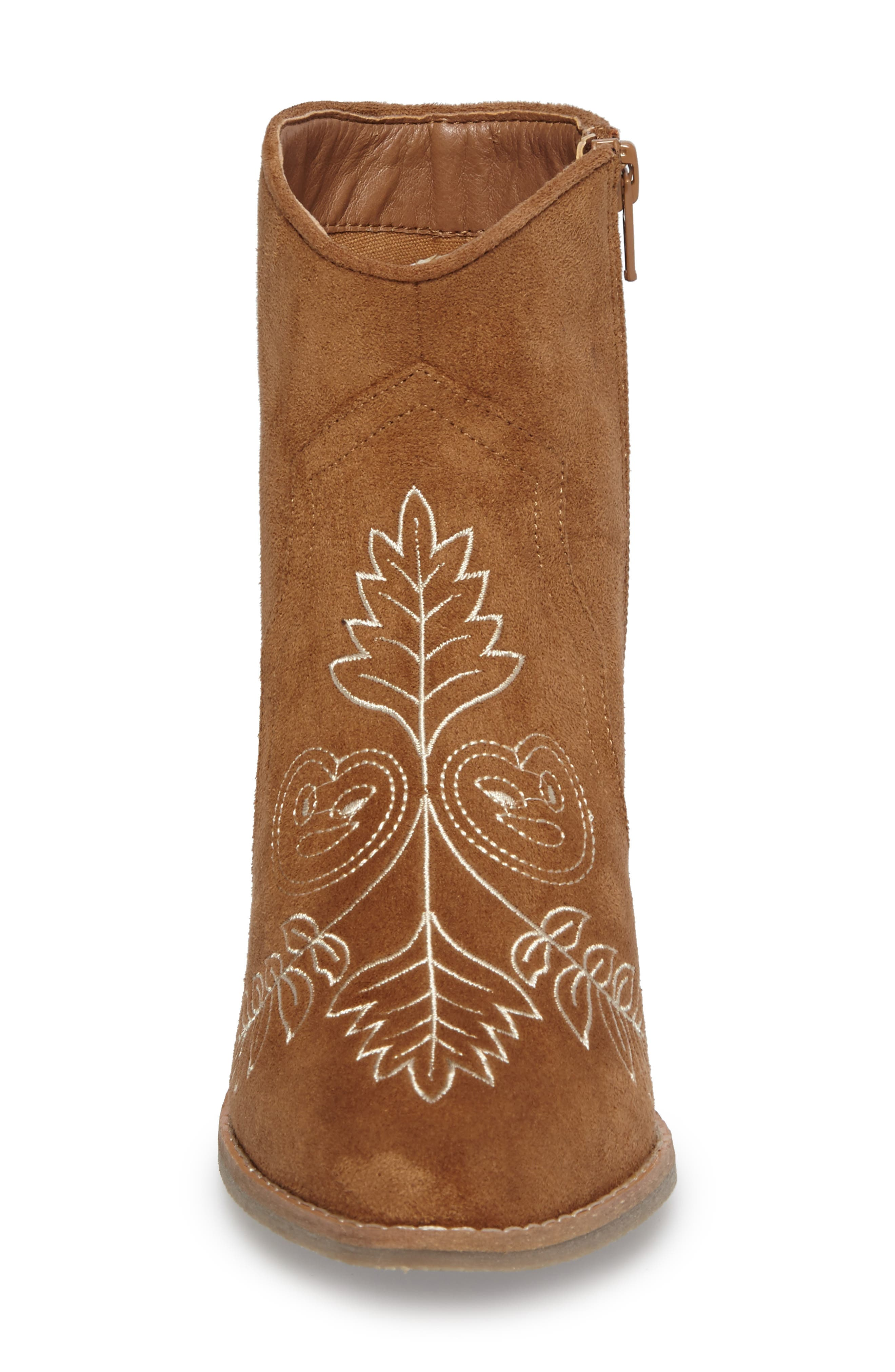 Axis Embroidered Bootie,                             Alternate thumbnail 7, color,