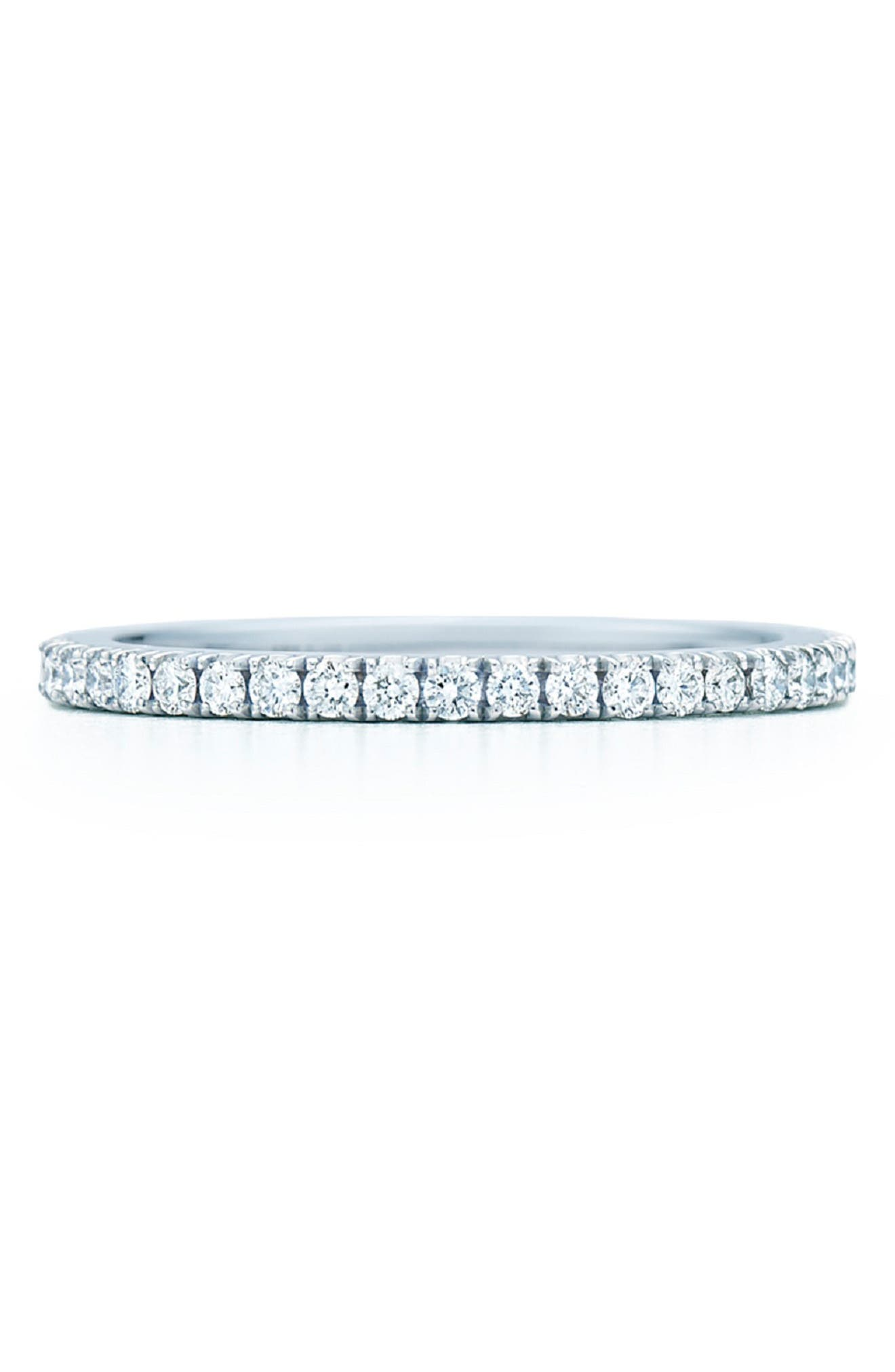 Diamond Stackable Ring,                             Main thumbnail 1, color,                             WHITE GOLD