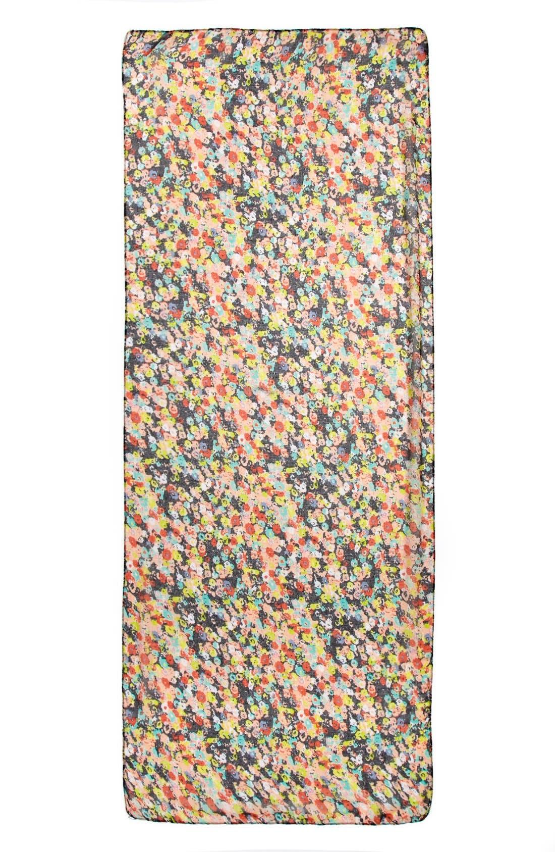 'Mini Floral' Scarf,                             Alternate thumbnail 2, color,