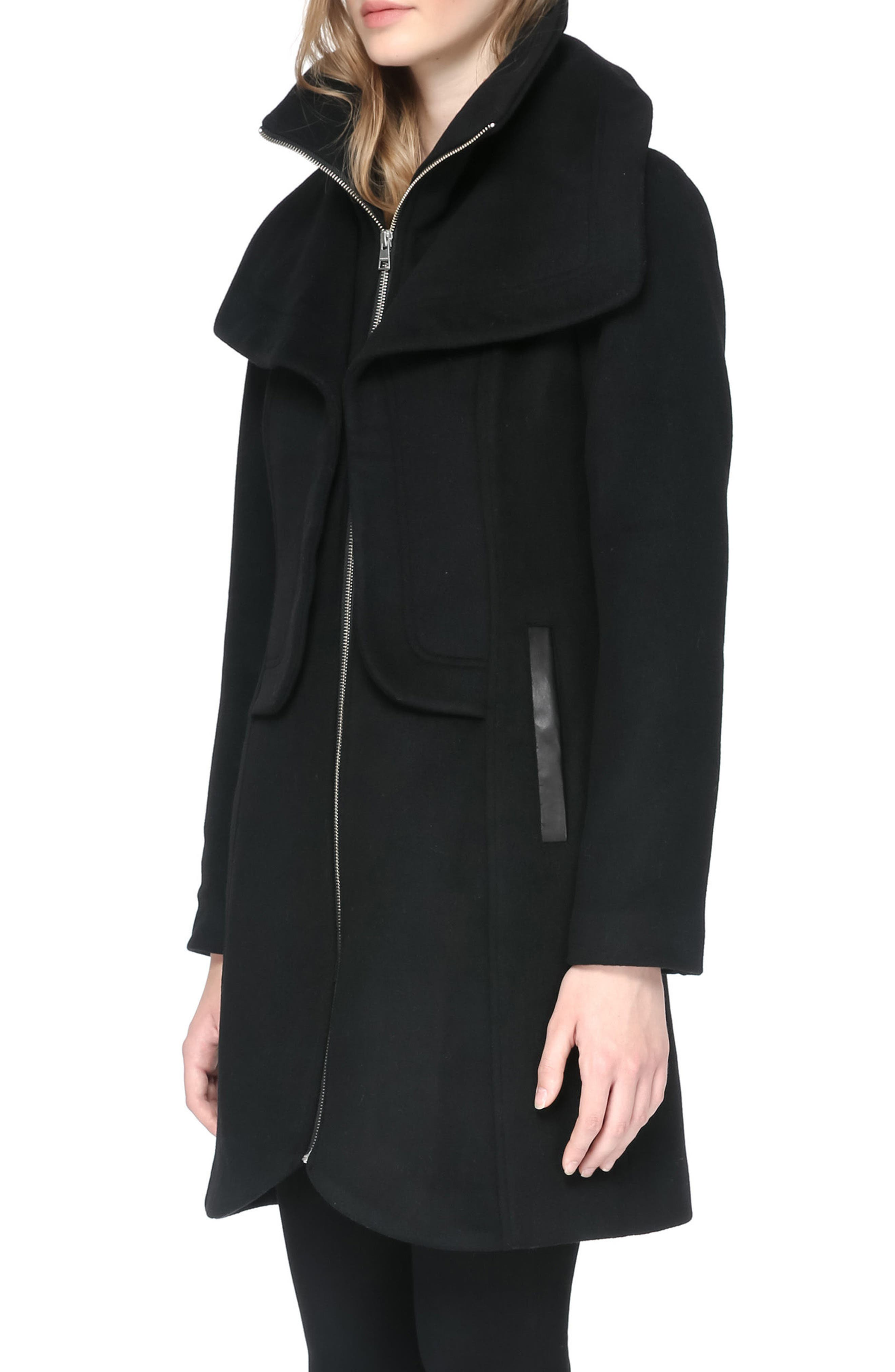 Hooded Trench,                             Alternate thumbnail 3, color,                             001