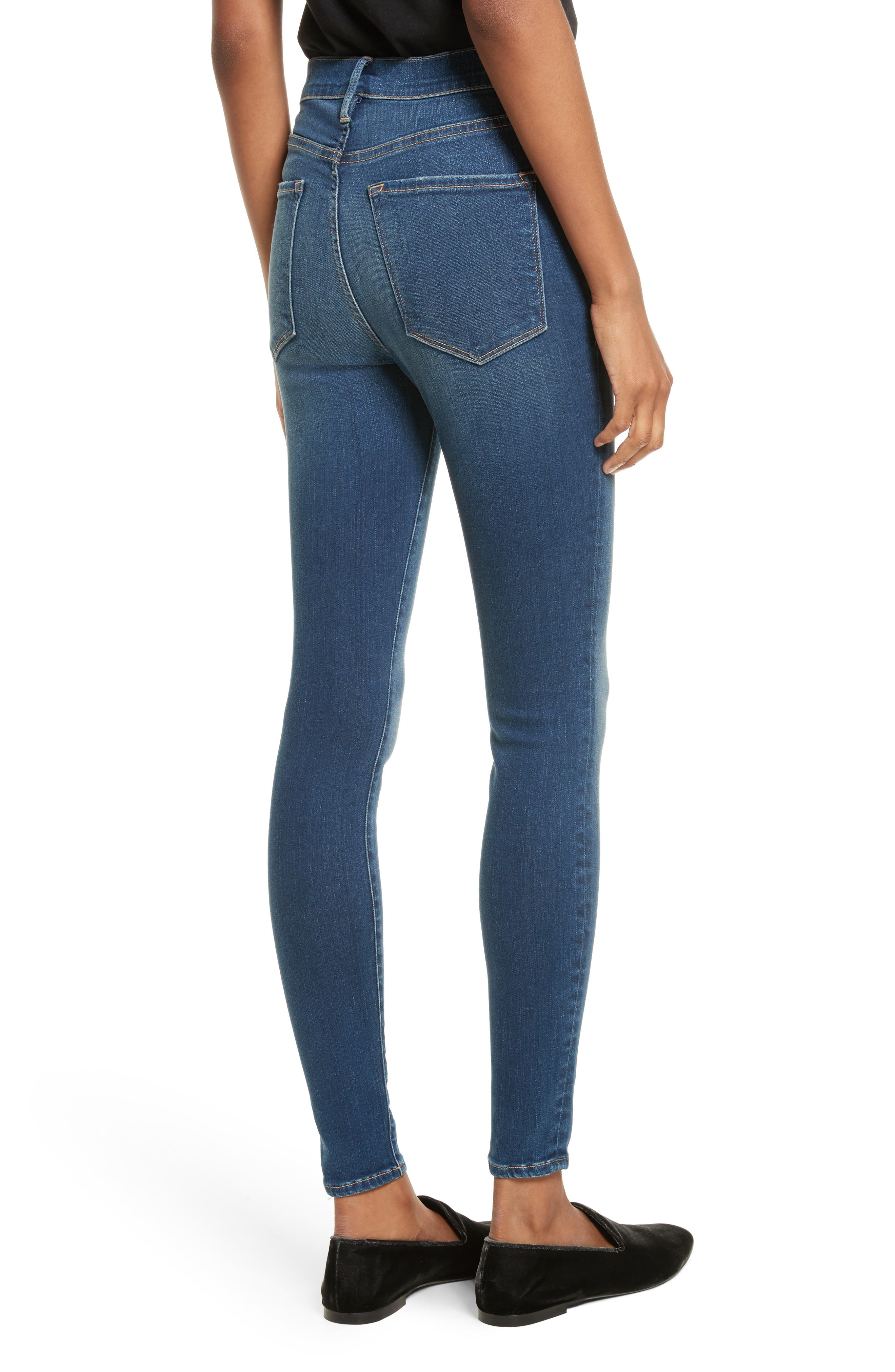 Ali High Waist Skinny Jeans,                             Alternate thumbnail 2, color,                             403