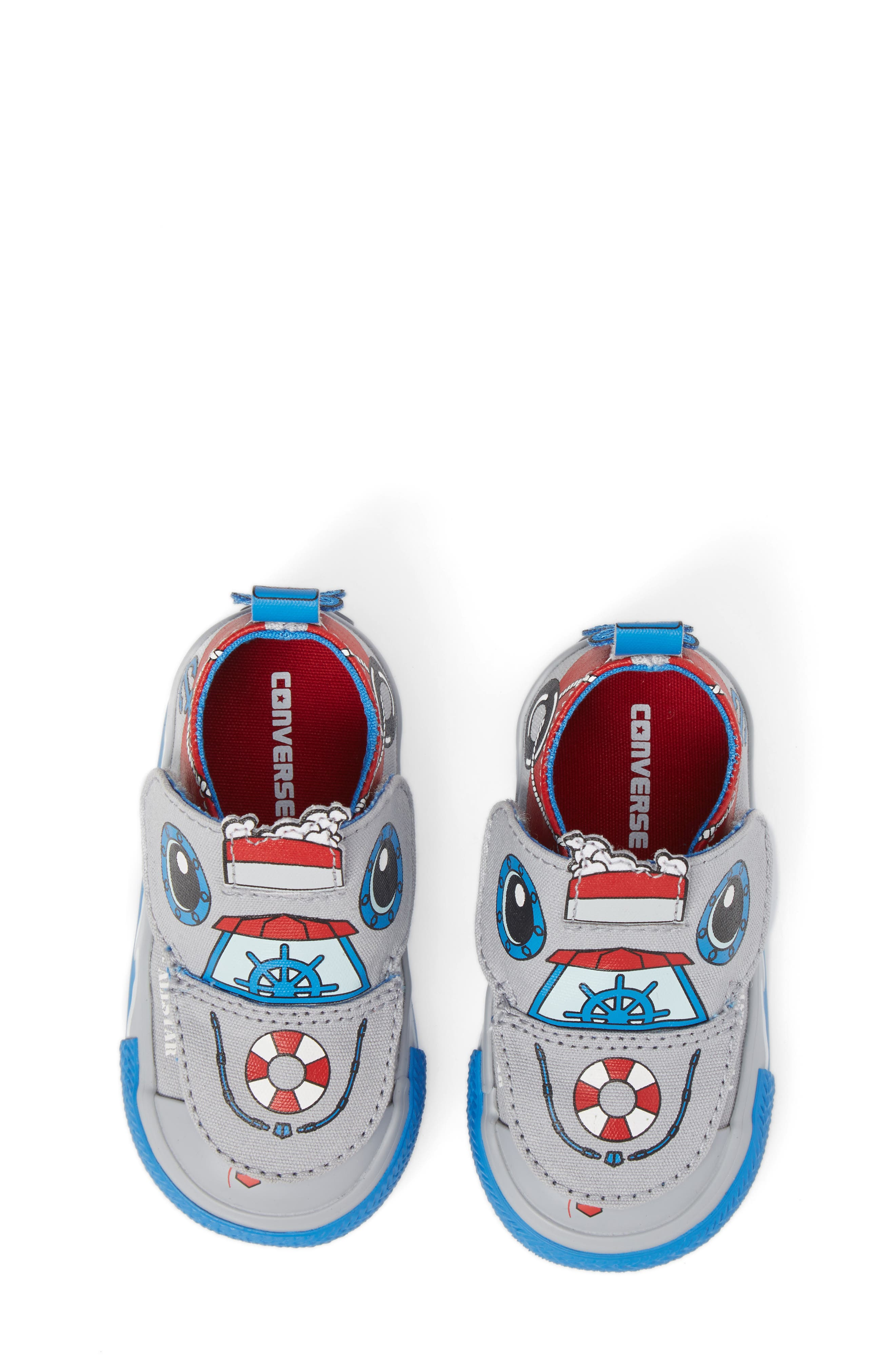 Chuck Taylor<sup>®</sup> All Star<sup>®</sup> Creatures Slip-On Sneaker,                             Alternate thumbnail 13, color,
