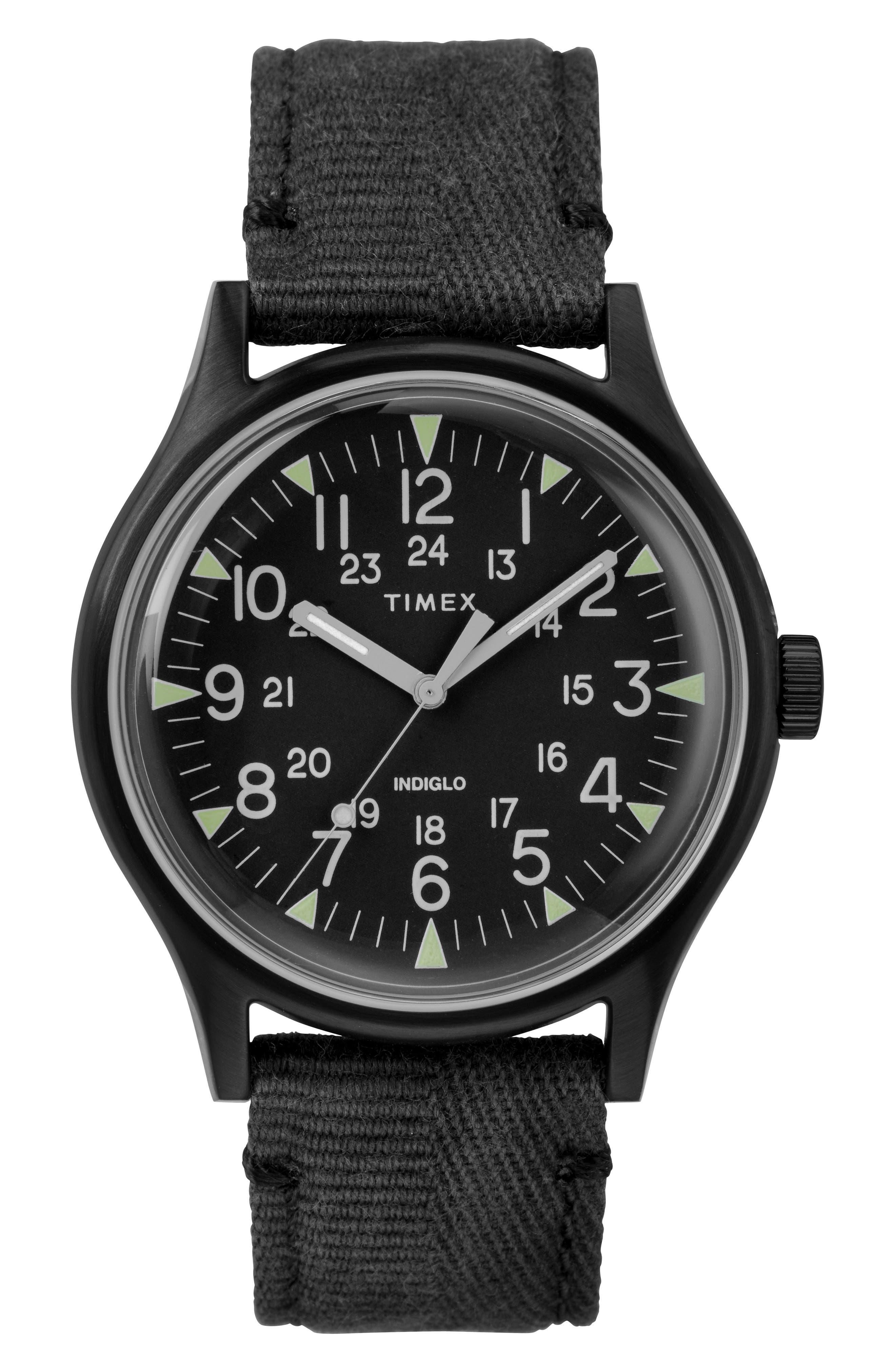 Timex Mk1 Canvas Strap Watch