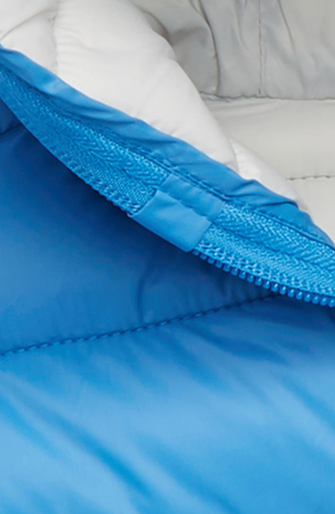 Water Resistant Hooded Jacket,                             Alternate thumbnail 2, color,                             ICEBURG BLUE