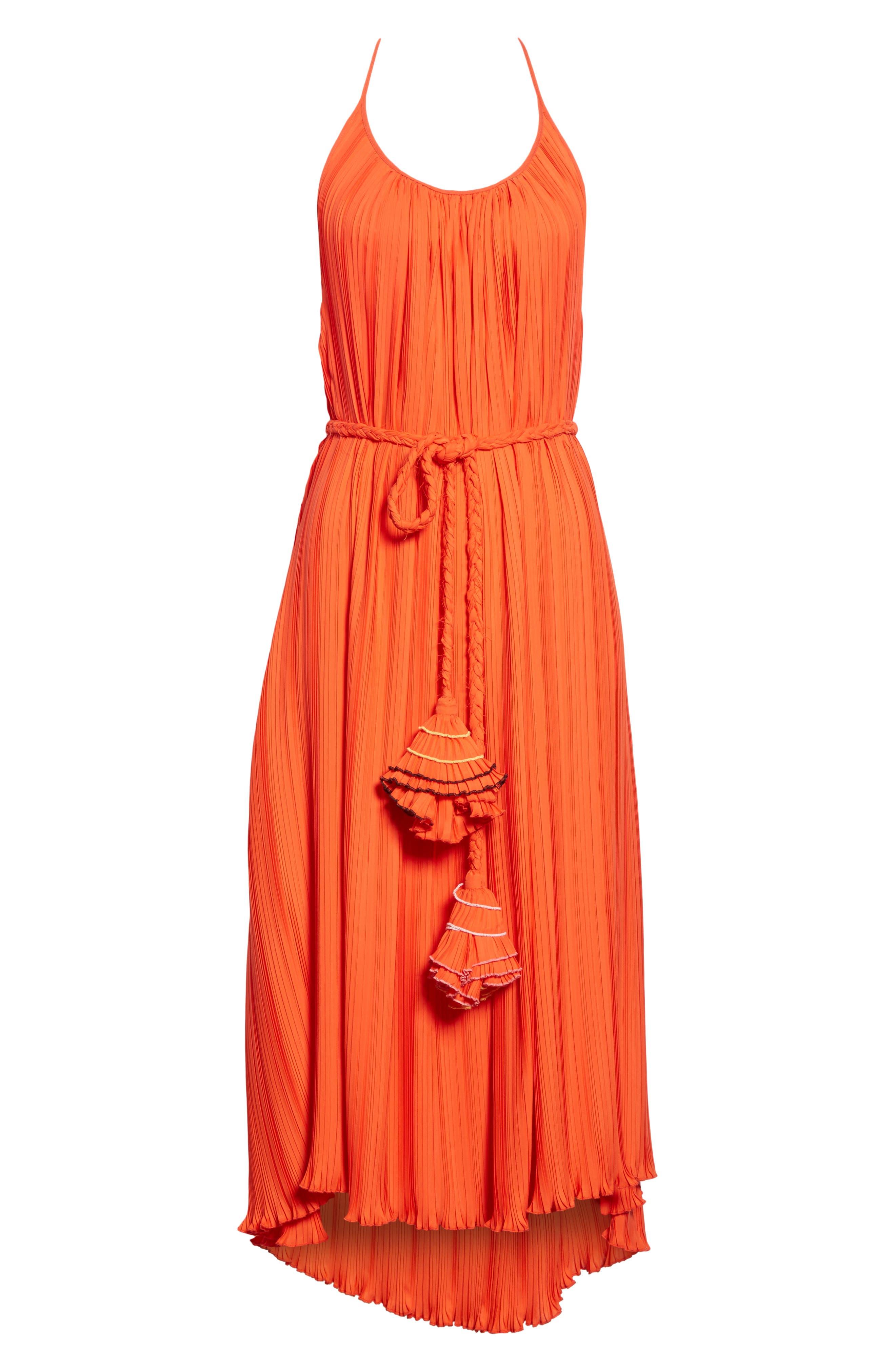 RACHEL COMEY,                             Sambuca Halter Dress,                             Alternate thumbnail 6, color,                             959