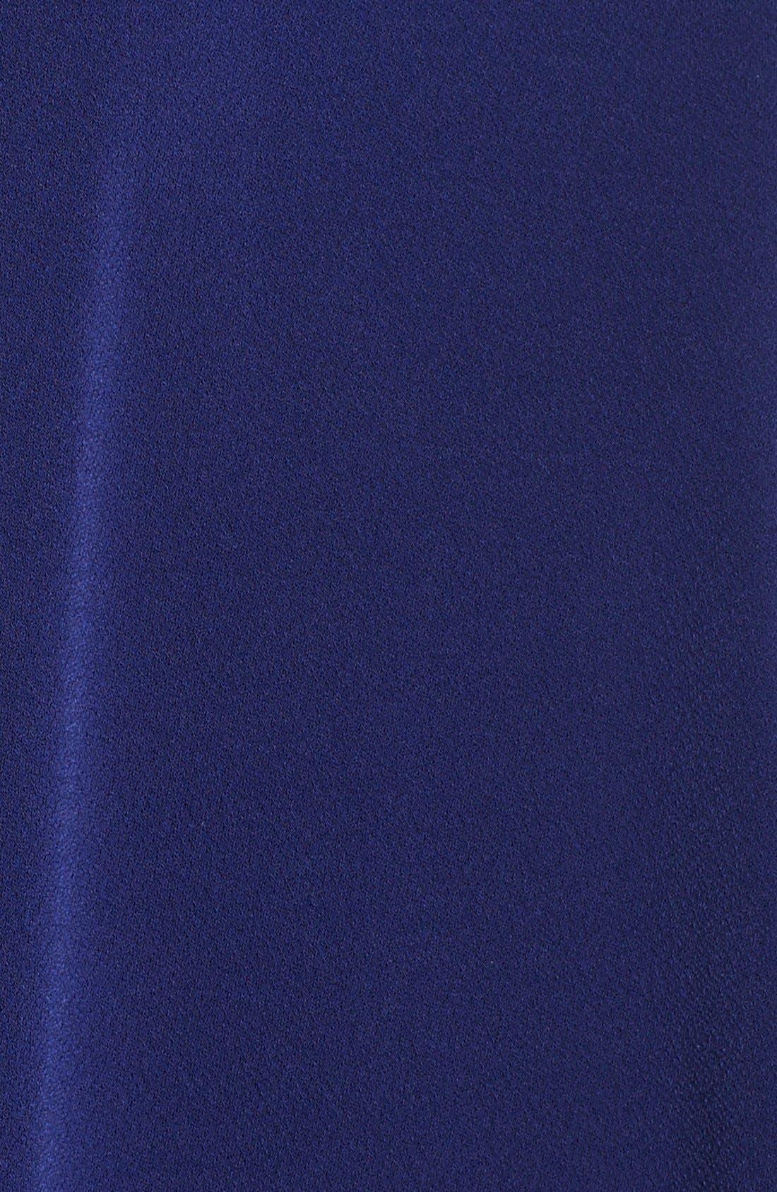 Jersey Faux Wrap Dress,                             Alternate thumbnail 6, color,                             416