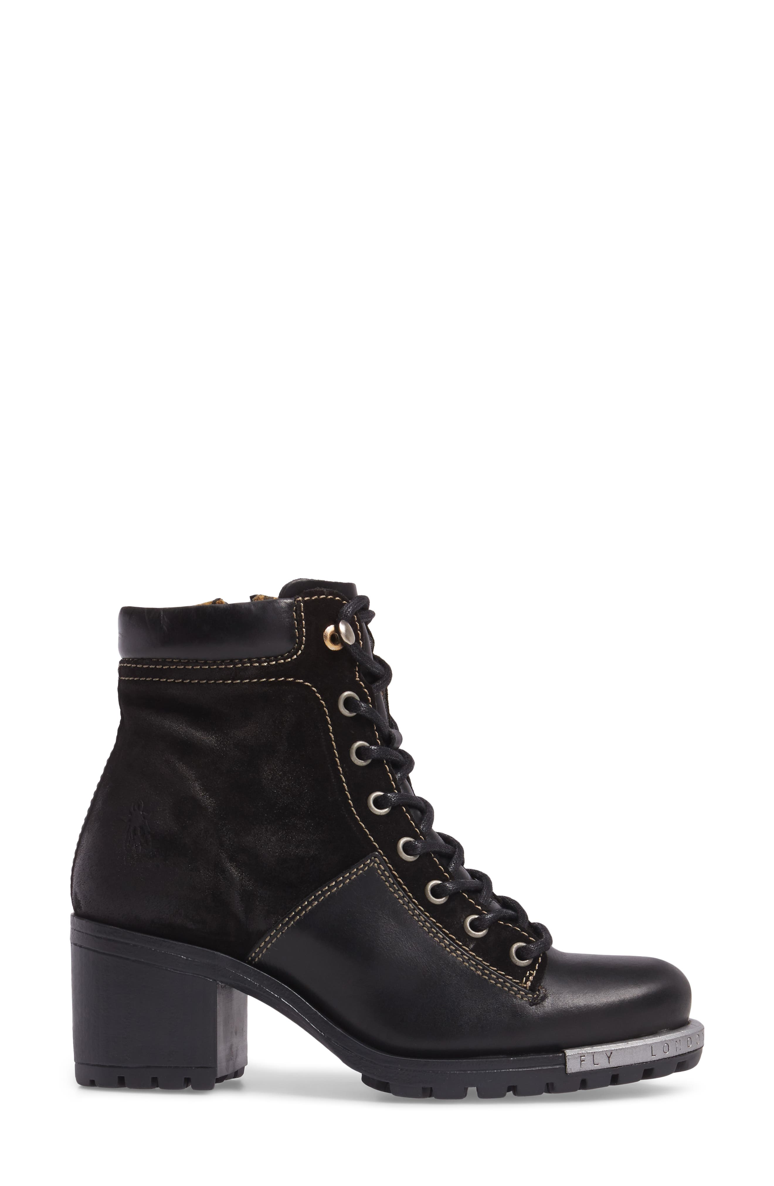 FLY LONDON,                             'Leal' Boot,                             Alternate thumbnail 3, color,                             005