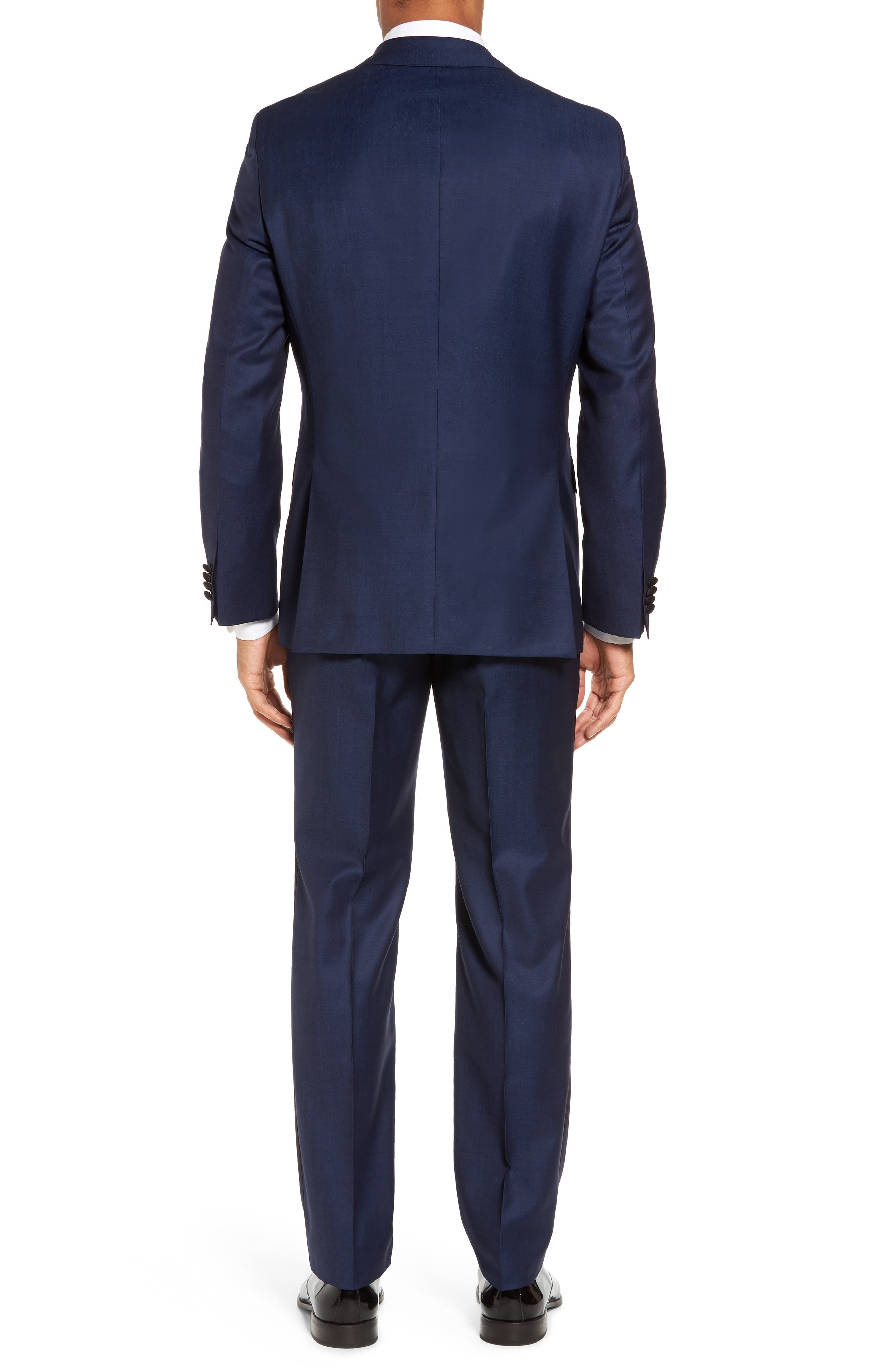 Jelvan/Livan Trim Fit Wool & Silk Tuxedo,                             Alternate thumbnail 2, color,                             420