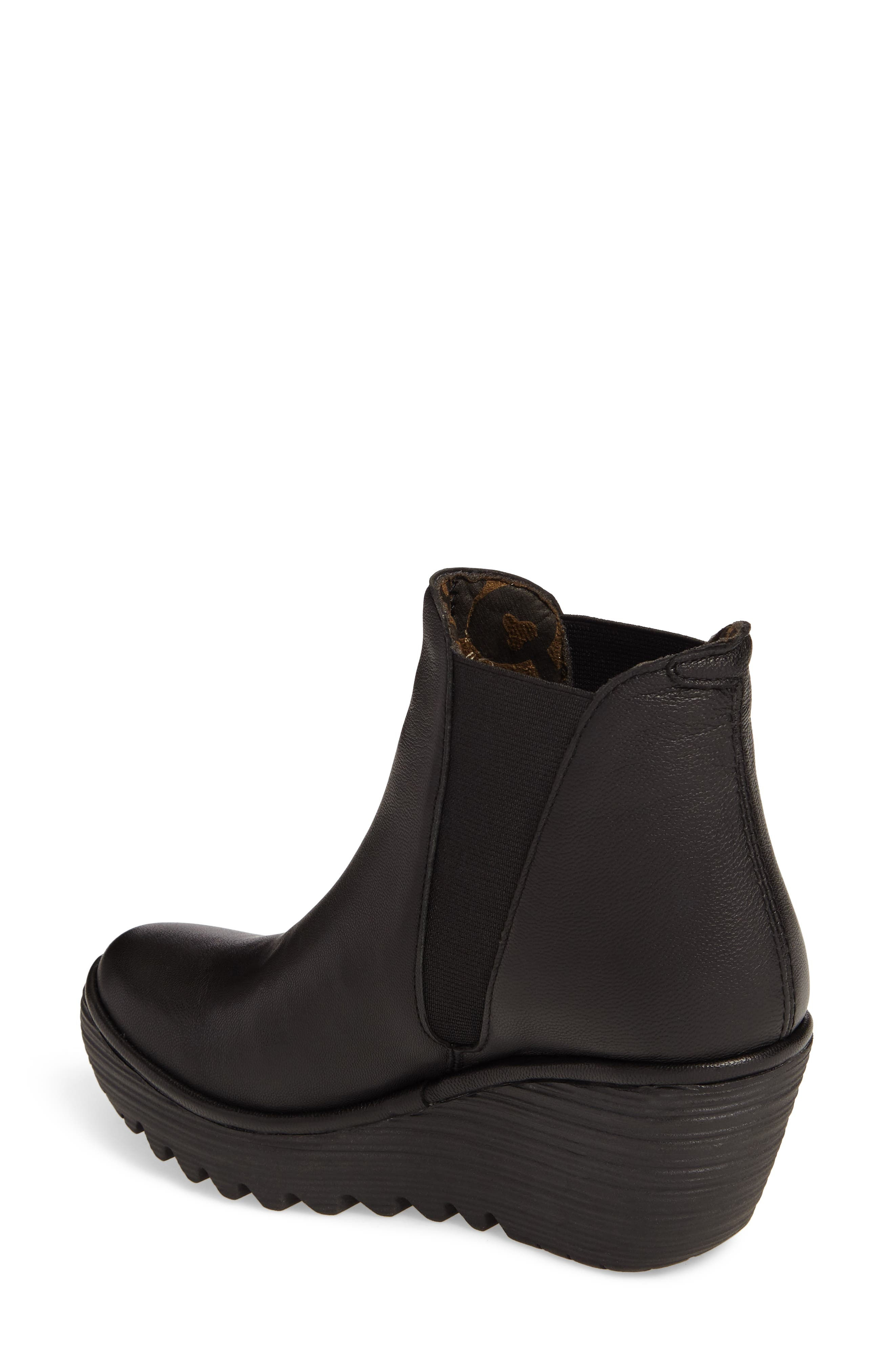 Yoss Wedge Bootie,                             Alternate thumbnail 2, color,                             001