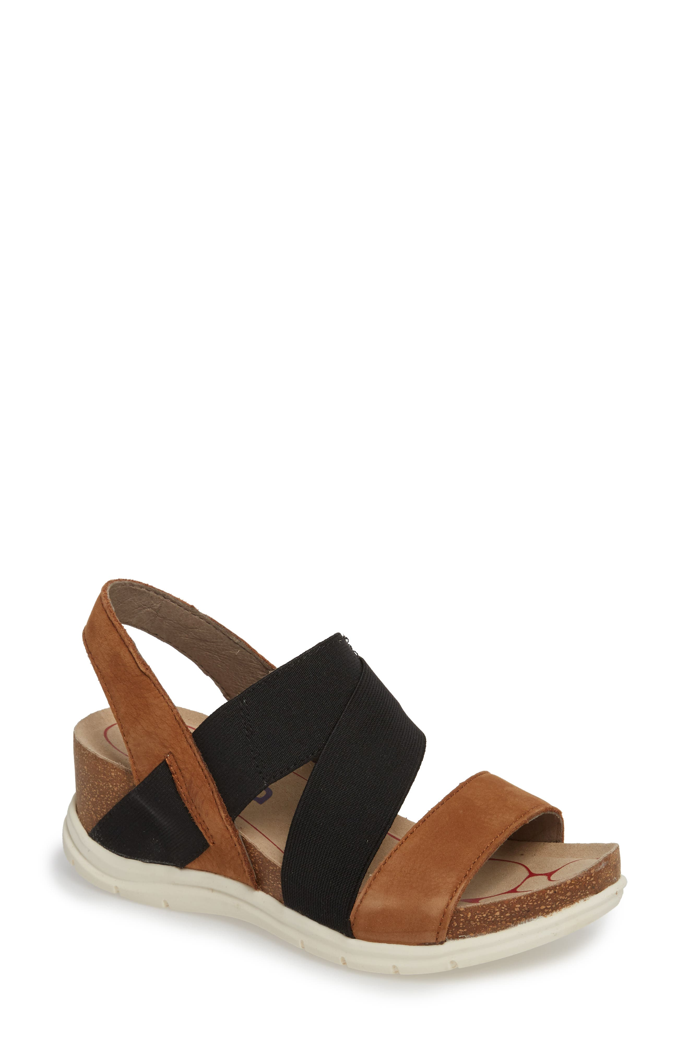 Paisley Wedge Sandal,                             Main thumbnail 2, color,