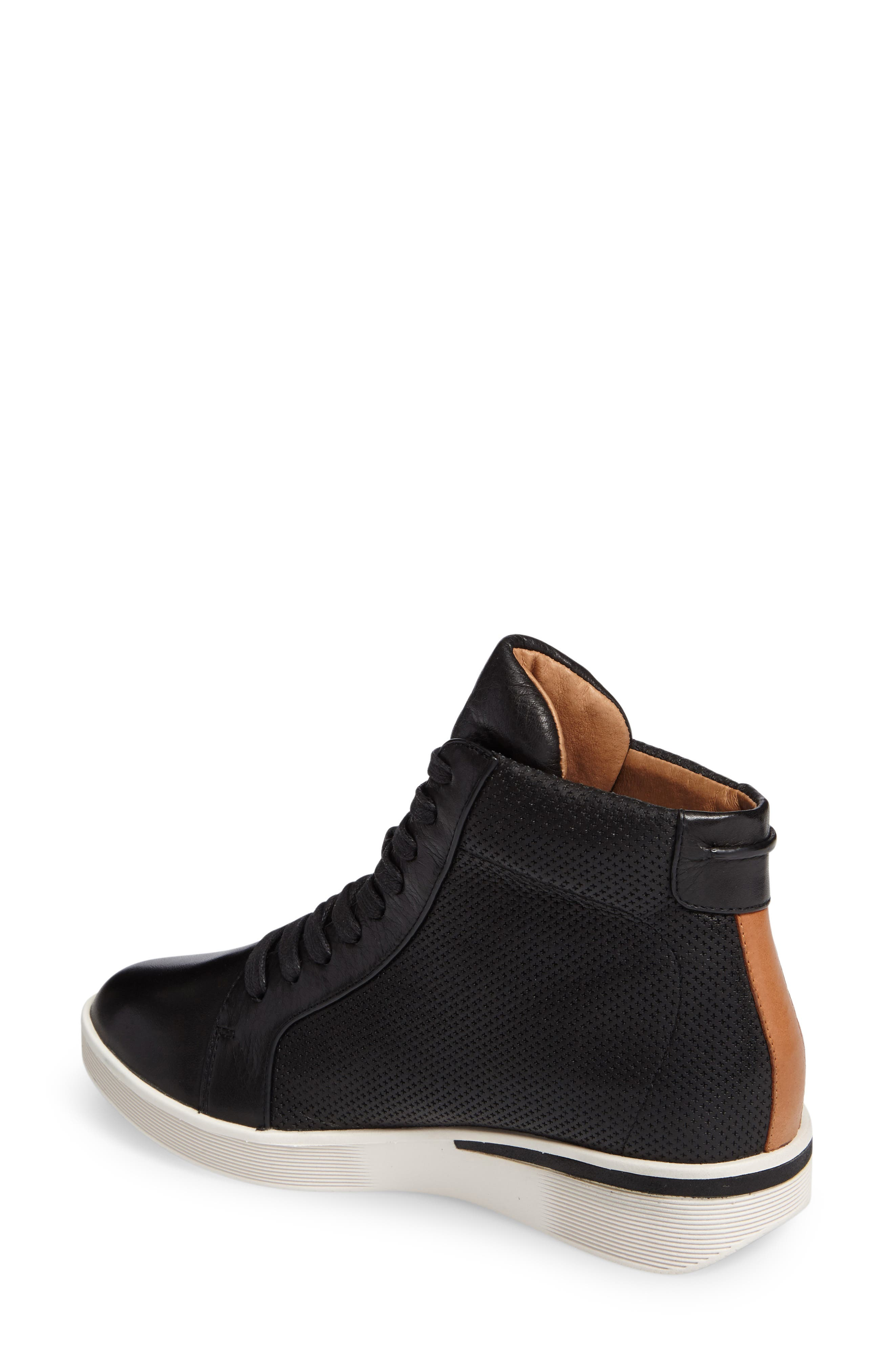 Gentle Souls Helka High Top Sneaker,                             Alternate thumbnail 2, color,                             001
