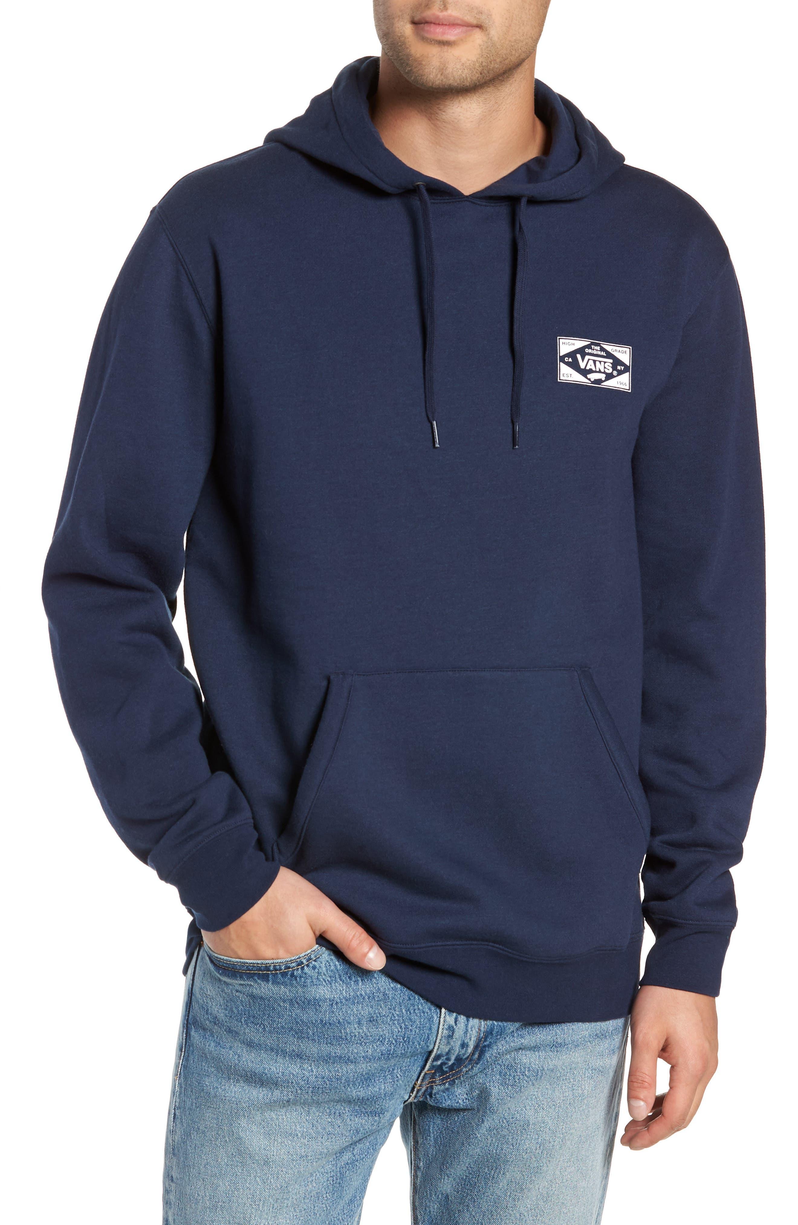 Vans Best In Class Hooded Sweatshirt, Blue