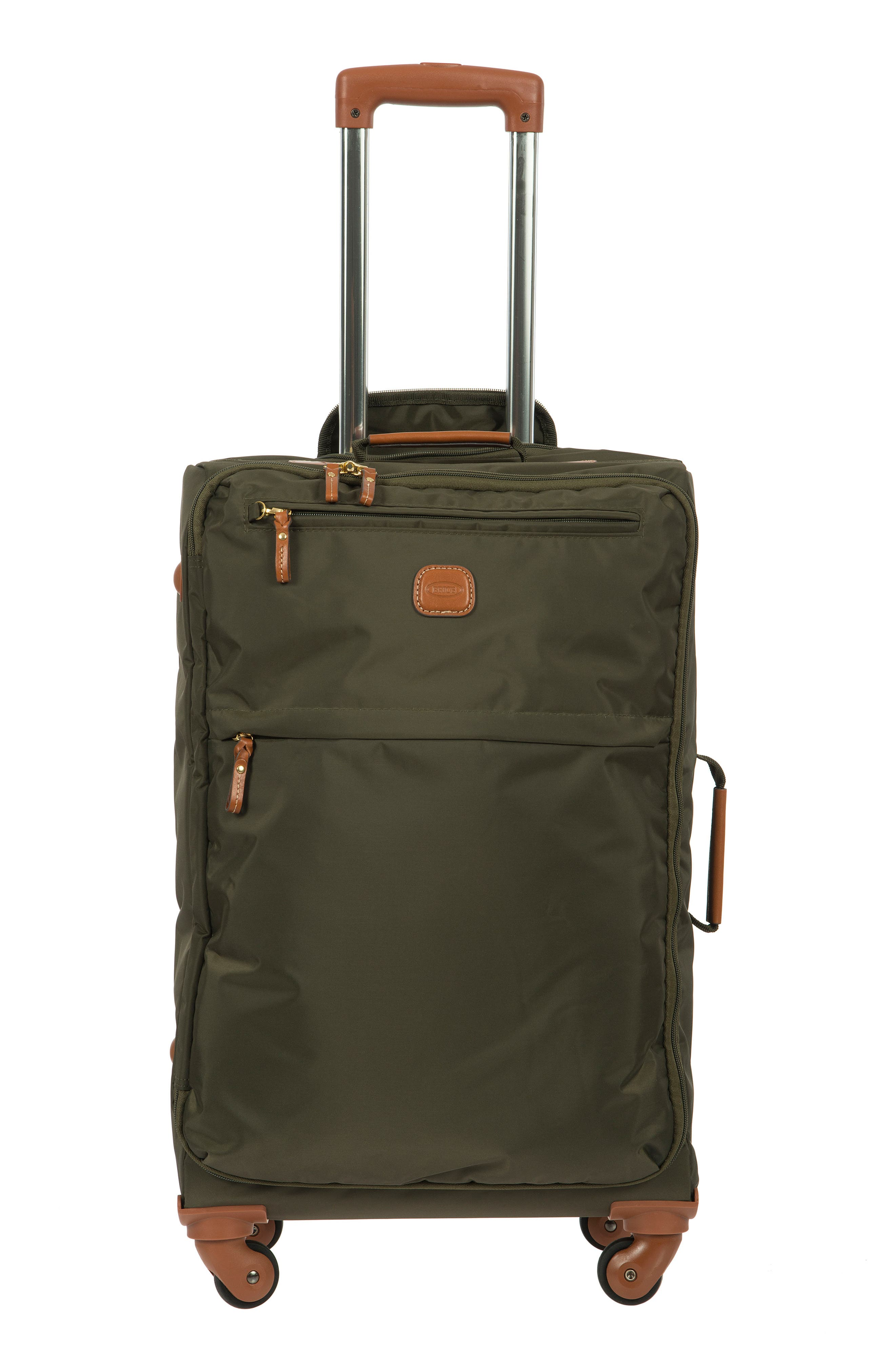 X-Bag 25-Inch Spinner Suitcase,                             Alternate thumbnail 2, color,                             OLIVE