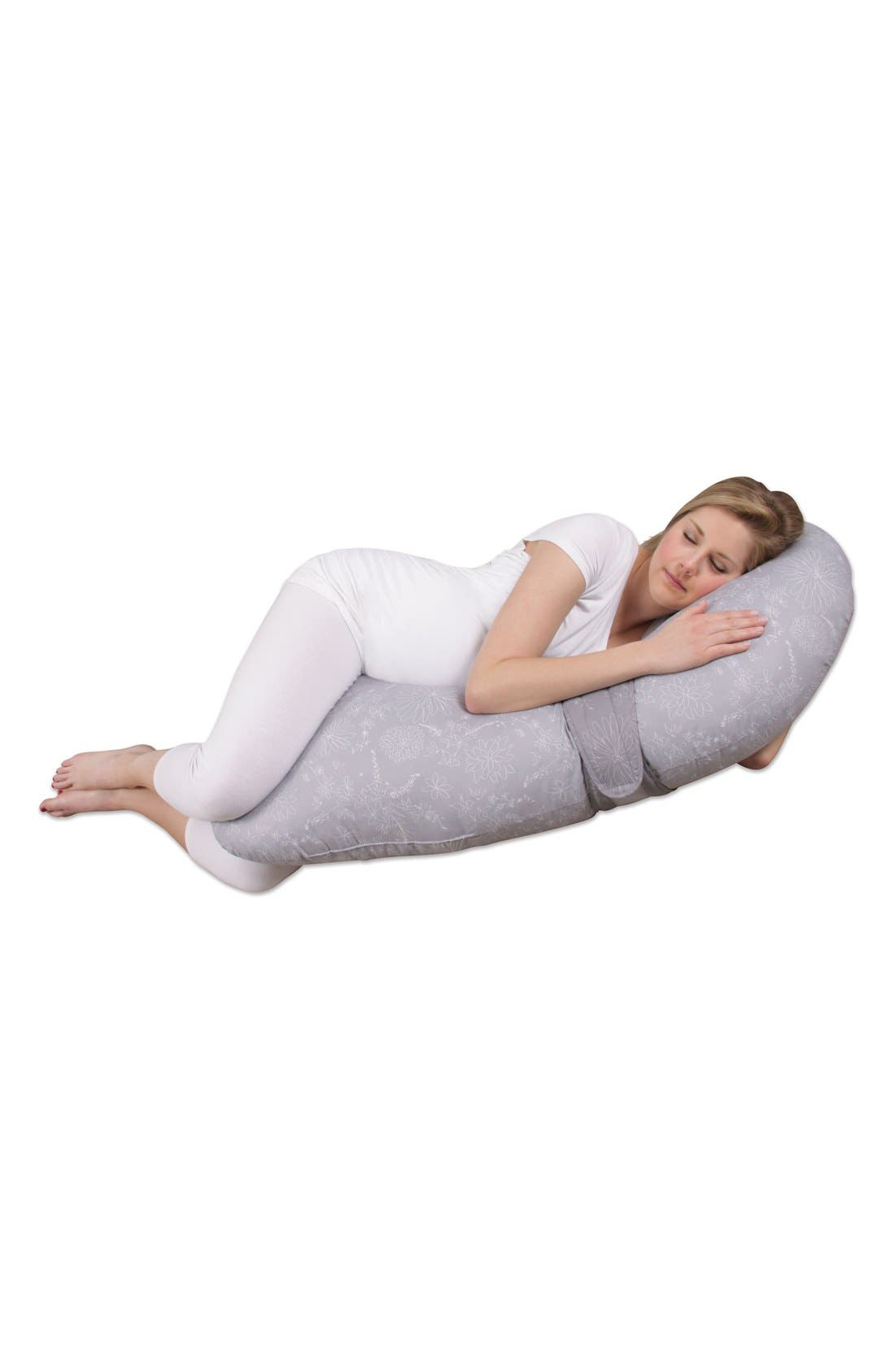 'Preggle<sup>®</sup> Chic - XL' Pregnancy Support Pillow,                             Alternate thumbnail 14, color,