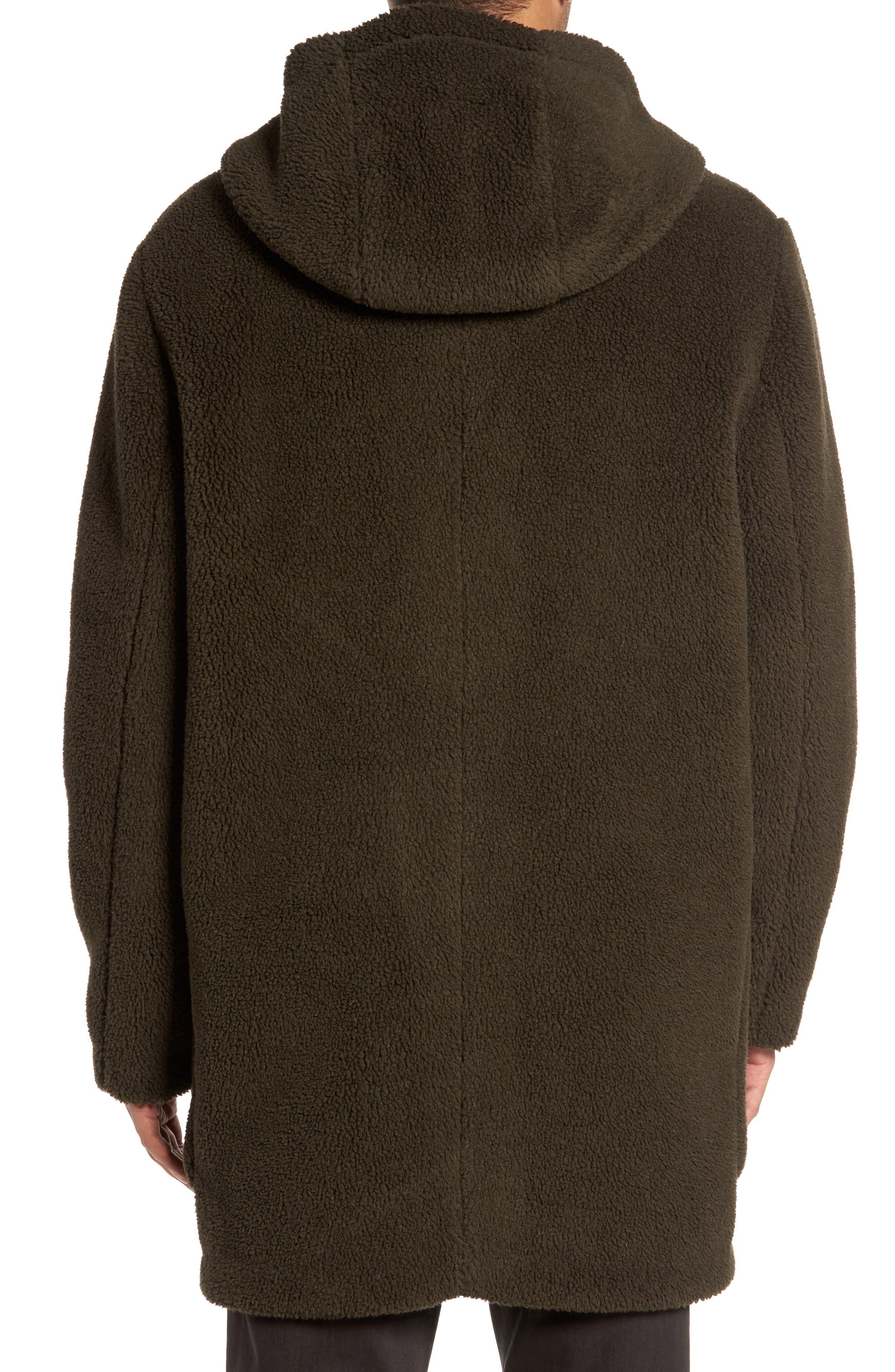 Fleece Toggle Coat,                             Alternate thumbnail 2, color,