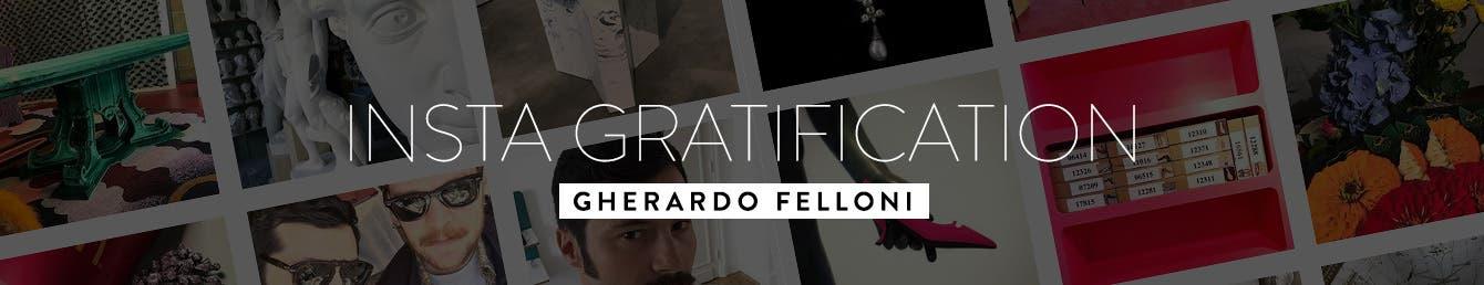 Roger Vivier creative director Gherardo Felloni.