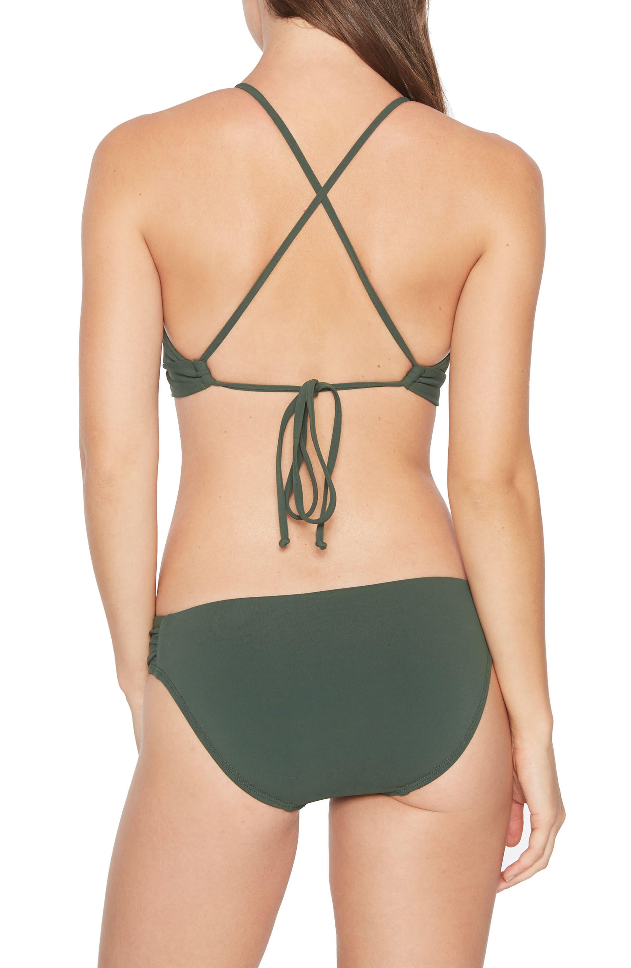 Ava Triangle Bikini Top,                             Alternate thumbnail 5, color,                             305