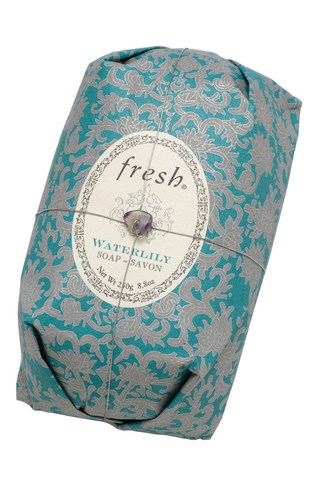 Waterlily Oval Soap,                         Main,                         color, NO COLOR