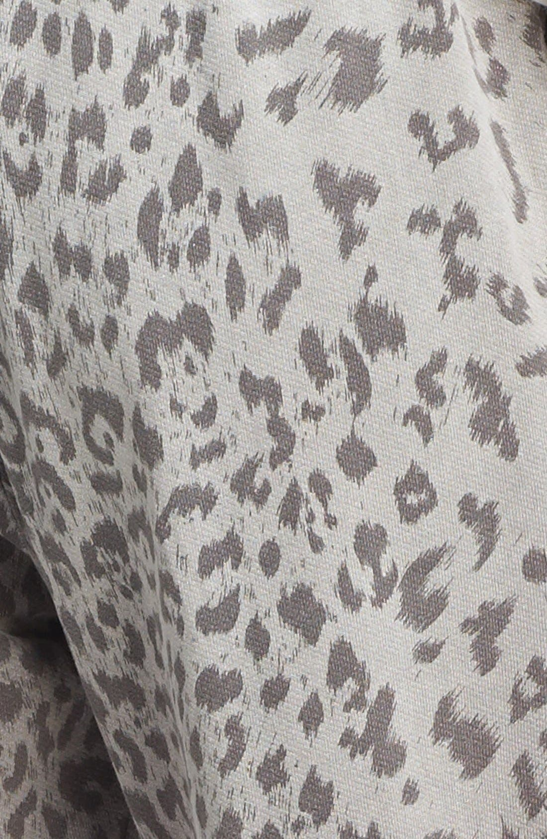 CURRENT/ELLIOTT,                             Animal Print Sweatpants,                             Alternate thumbnail 3, color,                             093