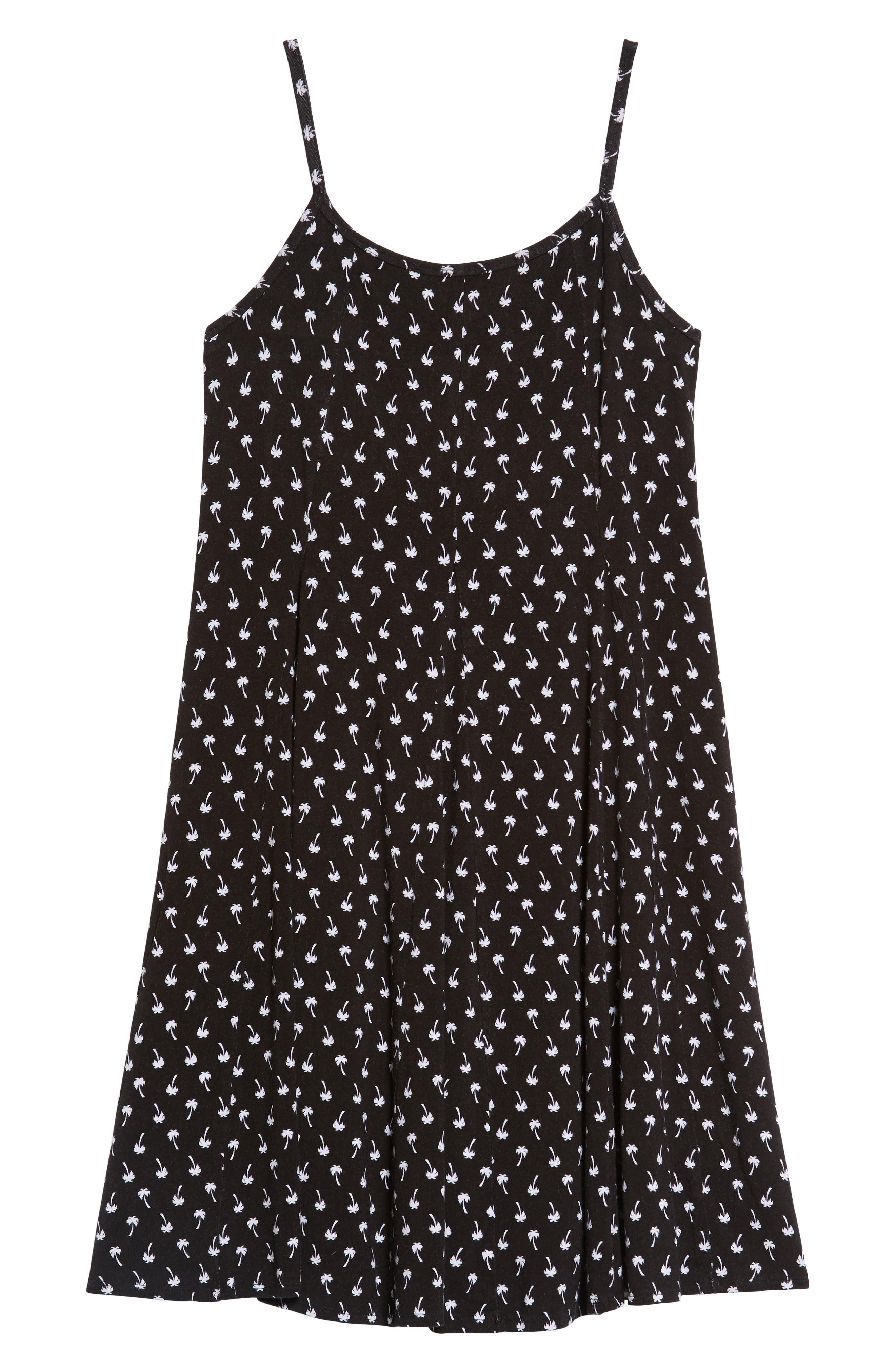 Print Swing Dress,                         Main,                         color, 001